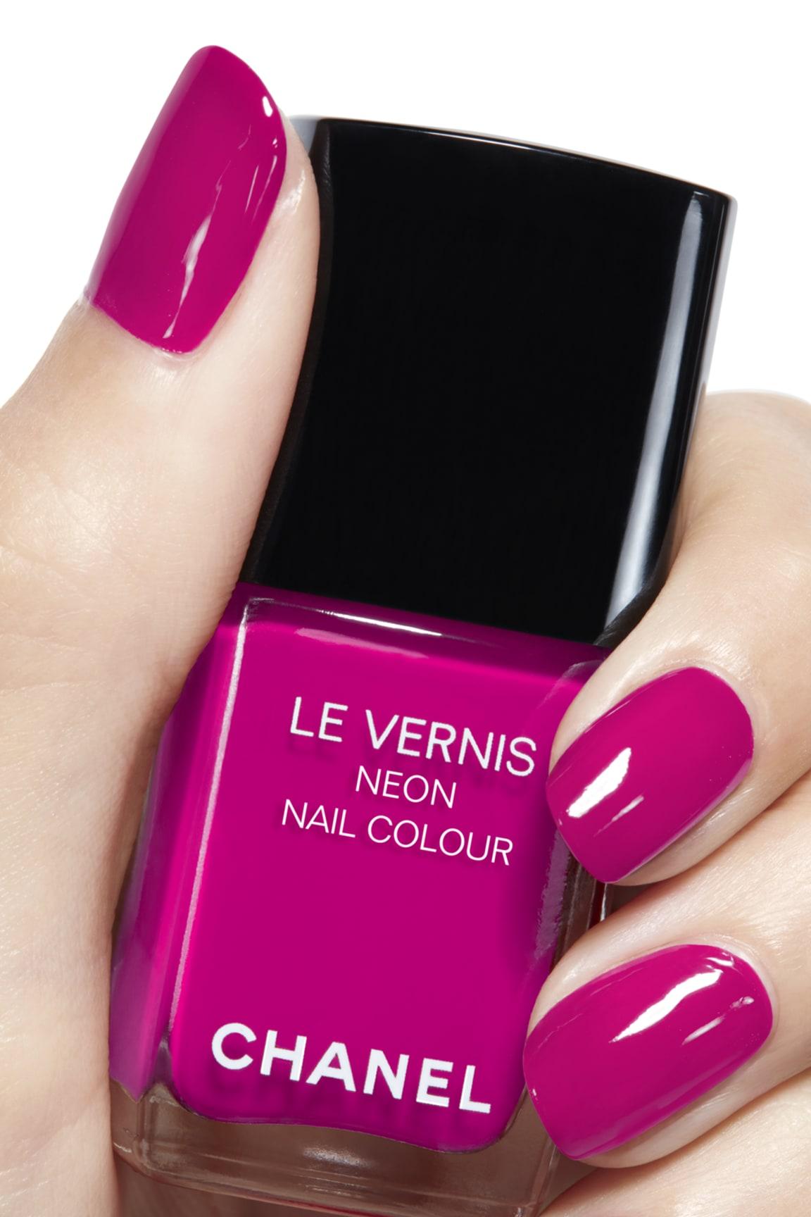Application makeup visual 2 - LE VERNIS NEON NAIL COLOUR 648 - TECHNO BLOOM