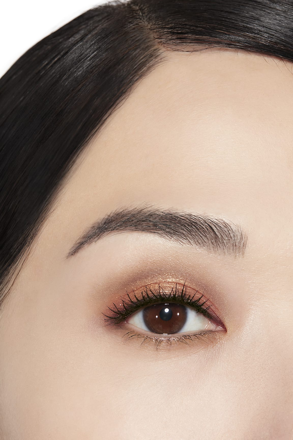 Application makeup visual 1 - LES BEIGES EYESHADOW PALETTE WARM