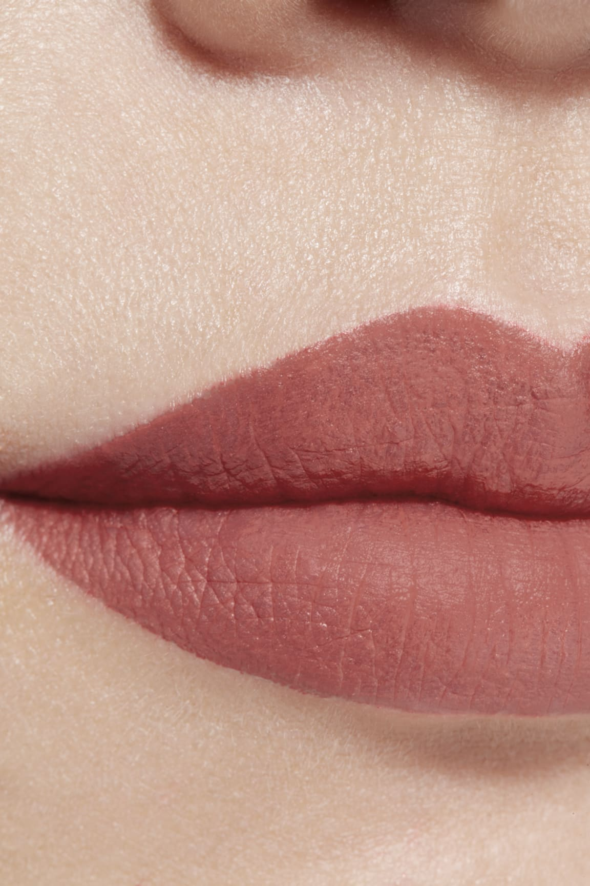 Application makeup visual 1 - ROUGE ALLURE INK FUSION 804 - MAUVY NUDE