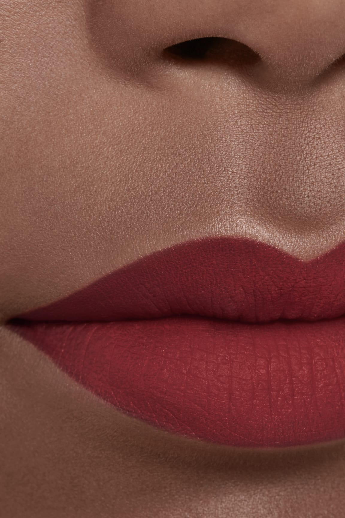 Application makeup visual 2 - ROUGE ALLURE INK FUSION 836 - IDYLLIQUE