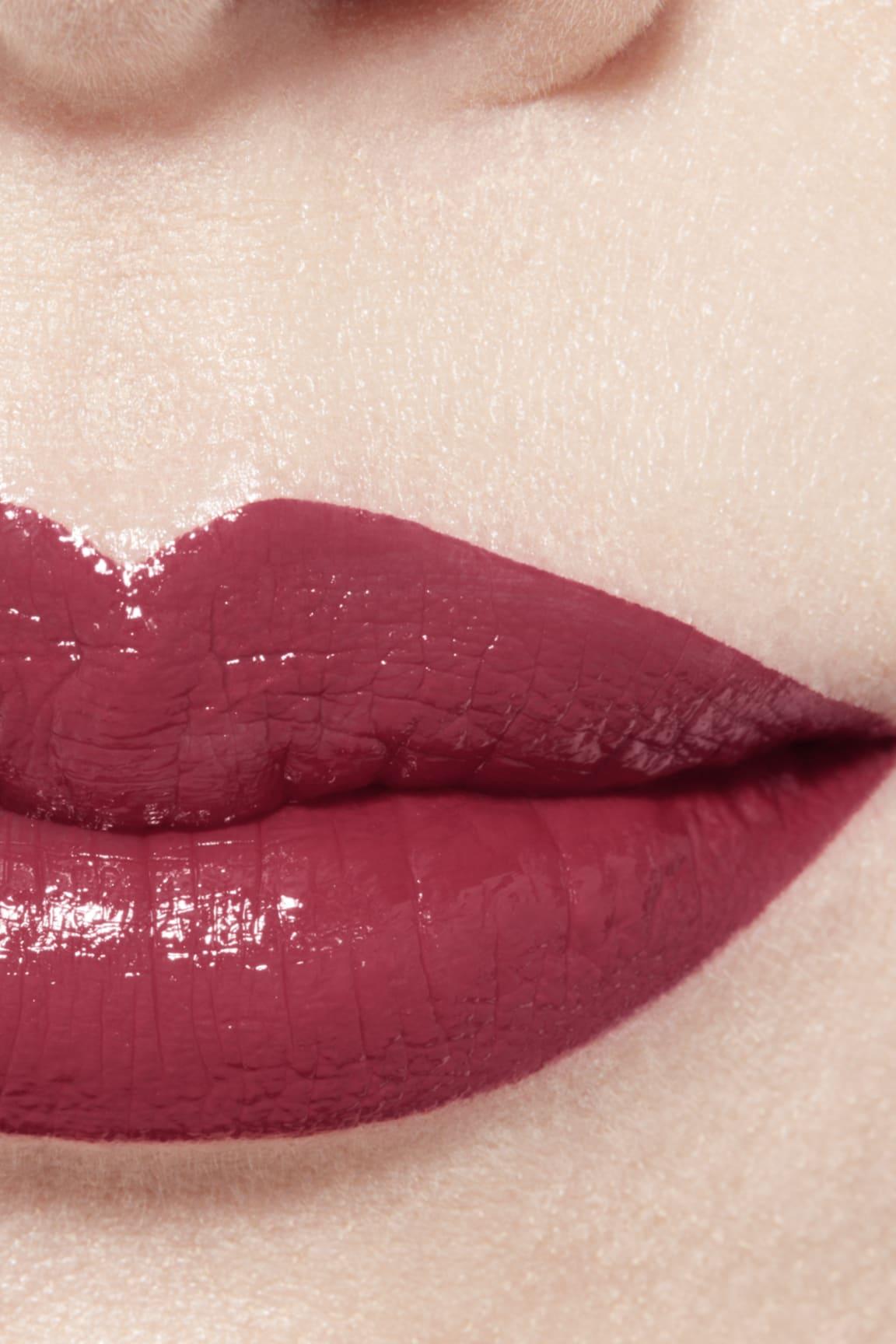 Imagen aplicación de maquillaje 1 - ROUGE ALLURE LAQUE 66 - PERMANENT