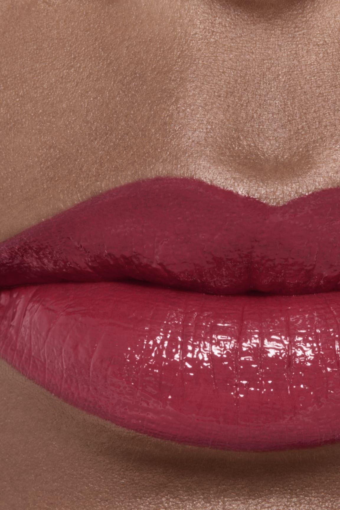Imagen aplicación de maquillaje 2 - ROUGE ALLURE LAQUE 66 - PERMANENT