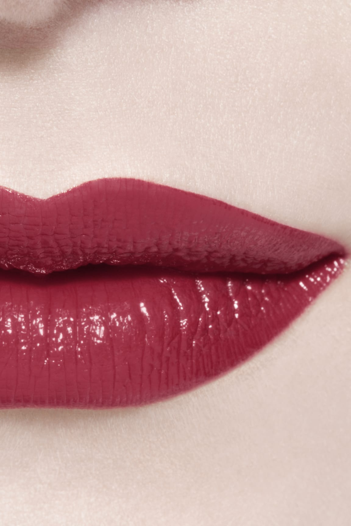 Imagen aplicación de maquillaje 3 - ROUGE ALLURE LAQUE 66 - PERMANENT