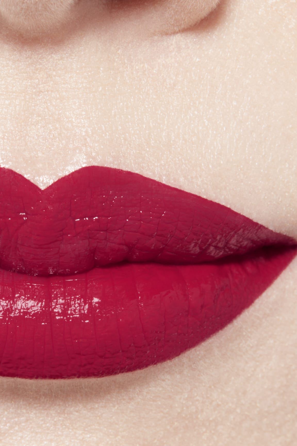 Imagen aplicación de maquillaje 1 - ROUGE ALLURE LAQUE 70 - IMMOBILE