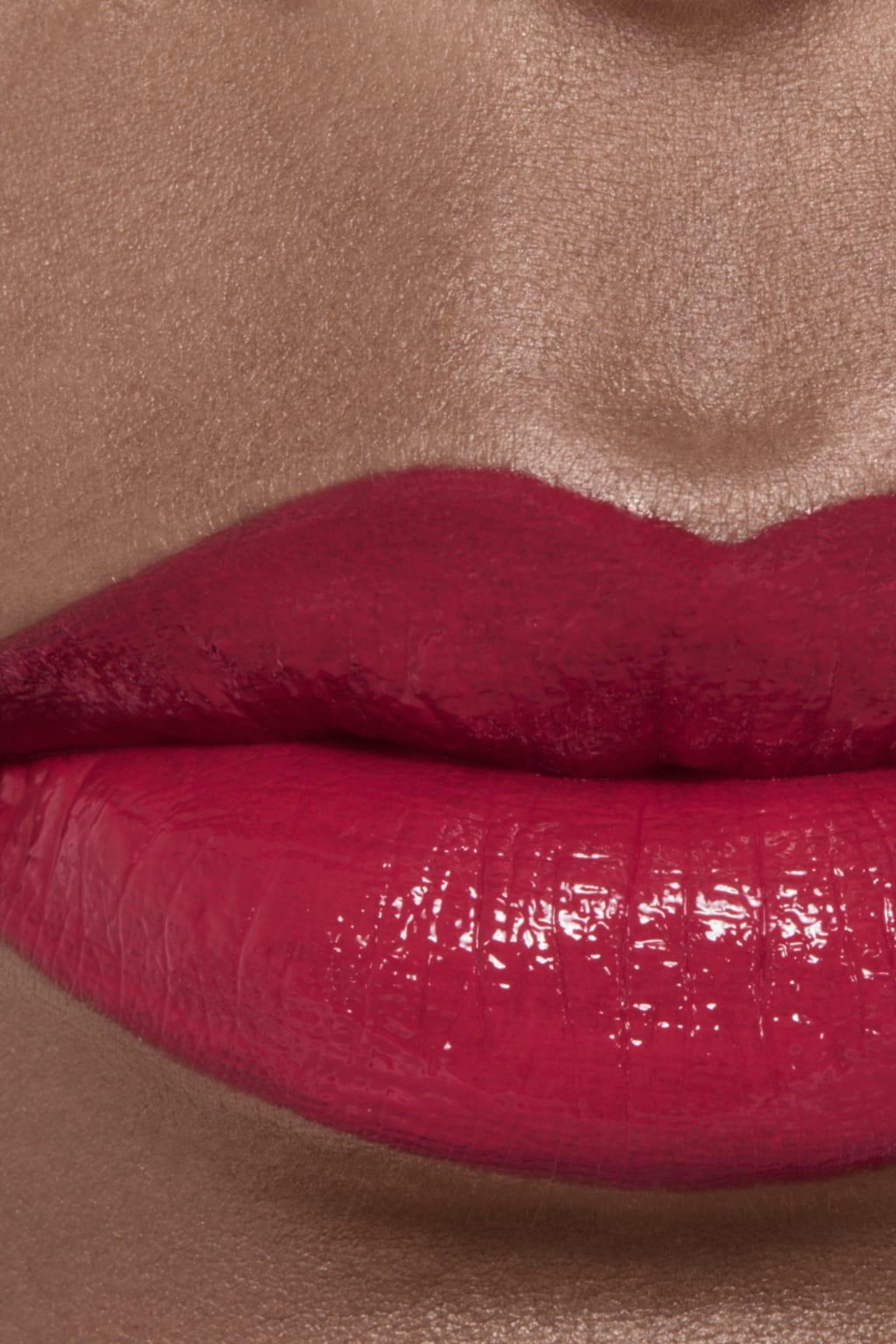 Imagen aplicación de maquillaje 2 - ROUGE ALLURE LAQUE 70 - IMMOBILE
