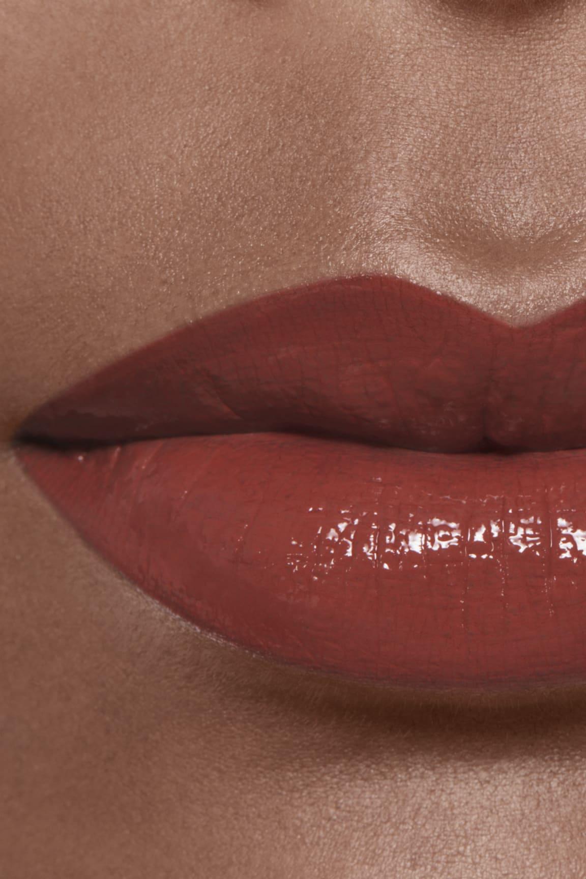 Imagen aplicación de maquillaje 2 - ROUGE ALLURE LAQUE 75 - FIDÉLITÉ