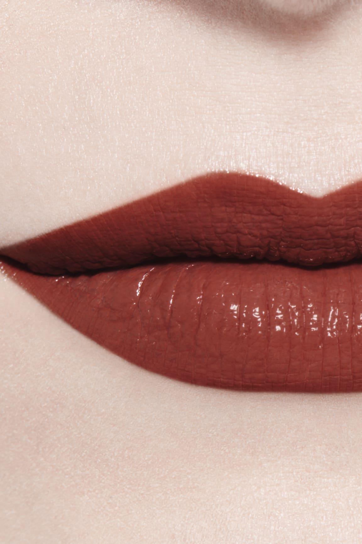 Imagen aplicación de maquillaje 3 - ROUGE ALLURE LAQUE 75 - FIDÉLITÉ