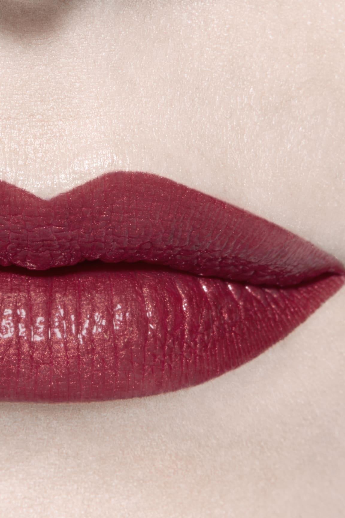 Application makeup visual 3 - ROUGE ALLURE LAQUE 77 - DARK BLOSSOM