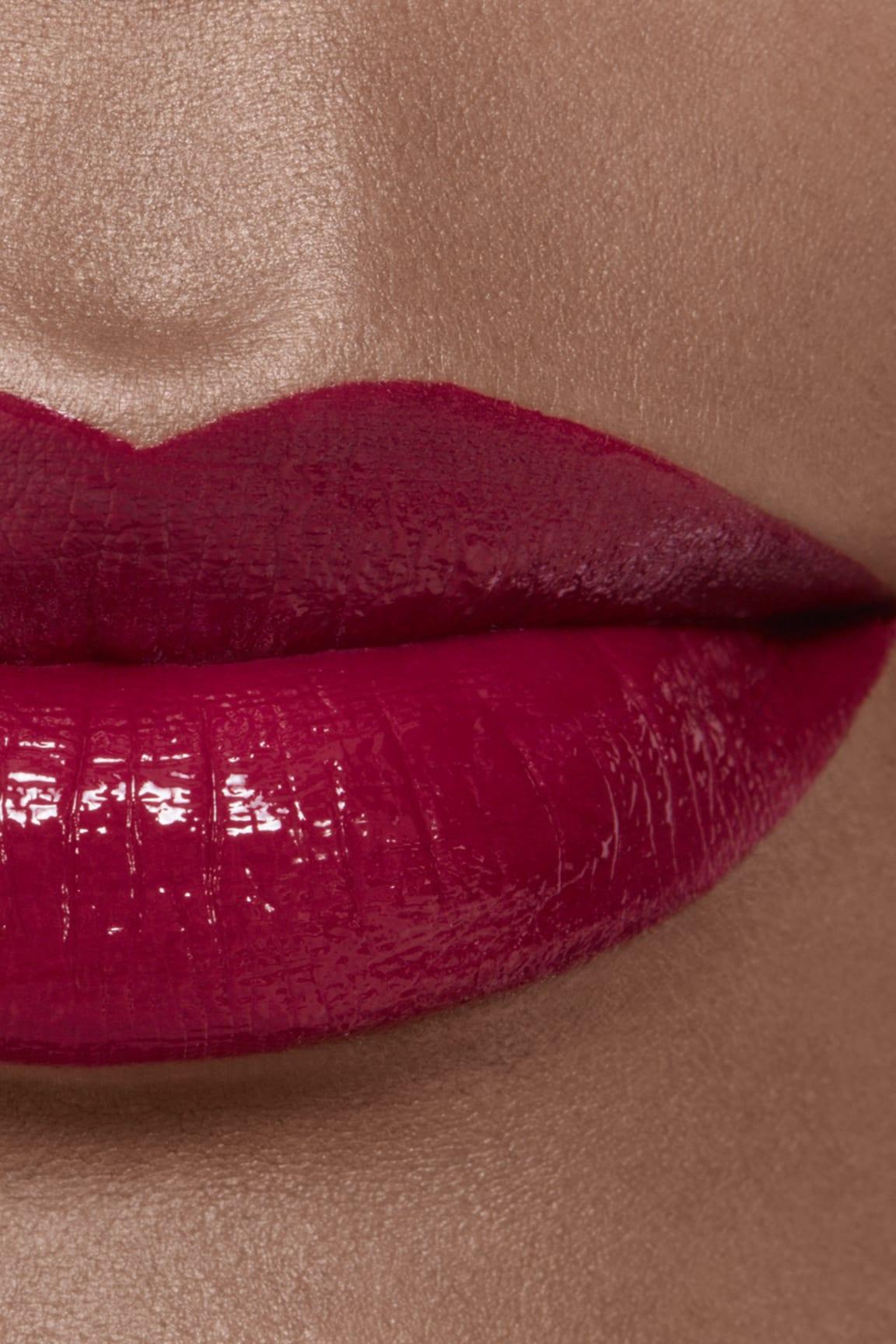 Imagen aplicación de maquillaje 2 - ROUGE ALLURE LAQUE 80 - TIMELESS