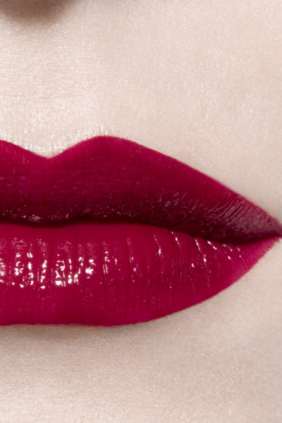 Imagen aplicación de maquillaje 3 - ROUGE ALLURE LAQUE 80 - TIMELESS