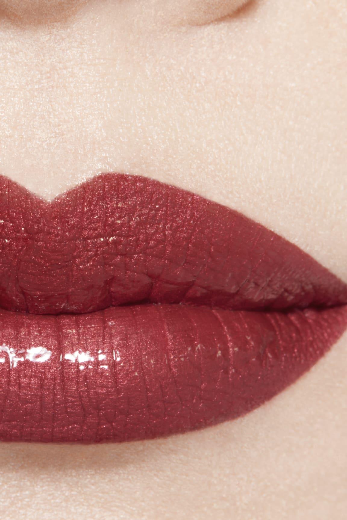 Application makeup visual 1 - ROUGE ALLURE LAQUE 84 - ROSE AMBIGU