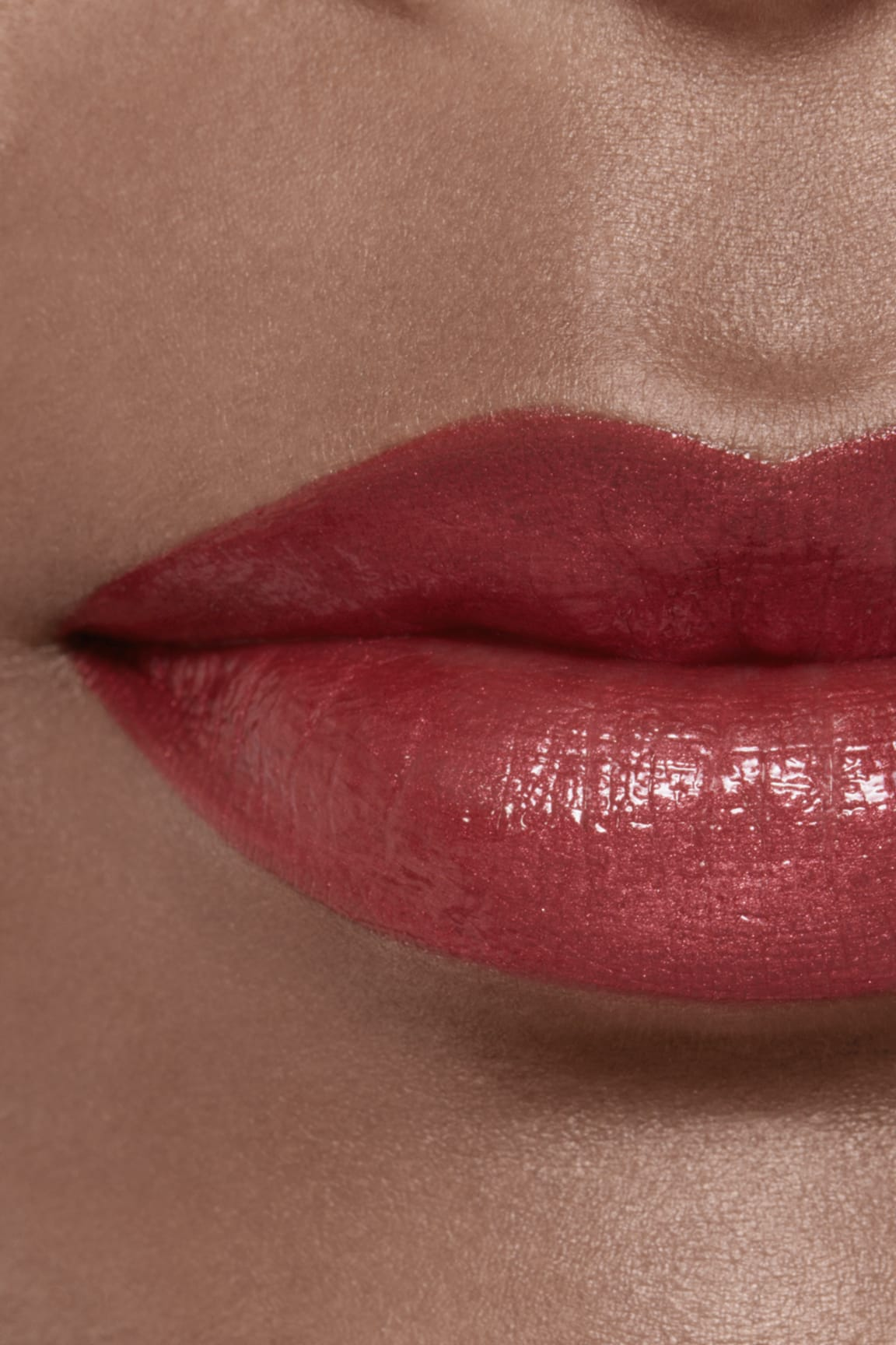 Application makeup visual 2 - ROUGE ALLURE LAQUE 84 - ROSE AMBIGU