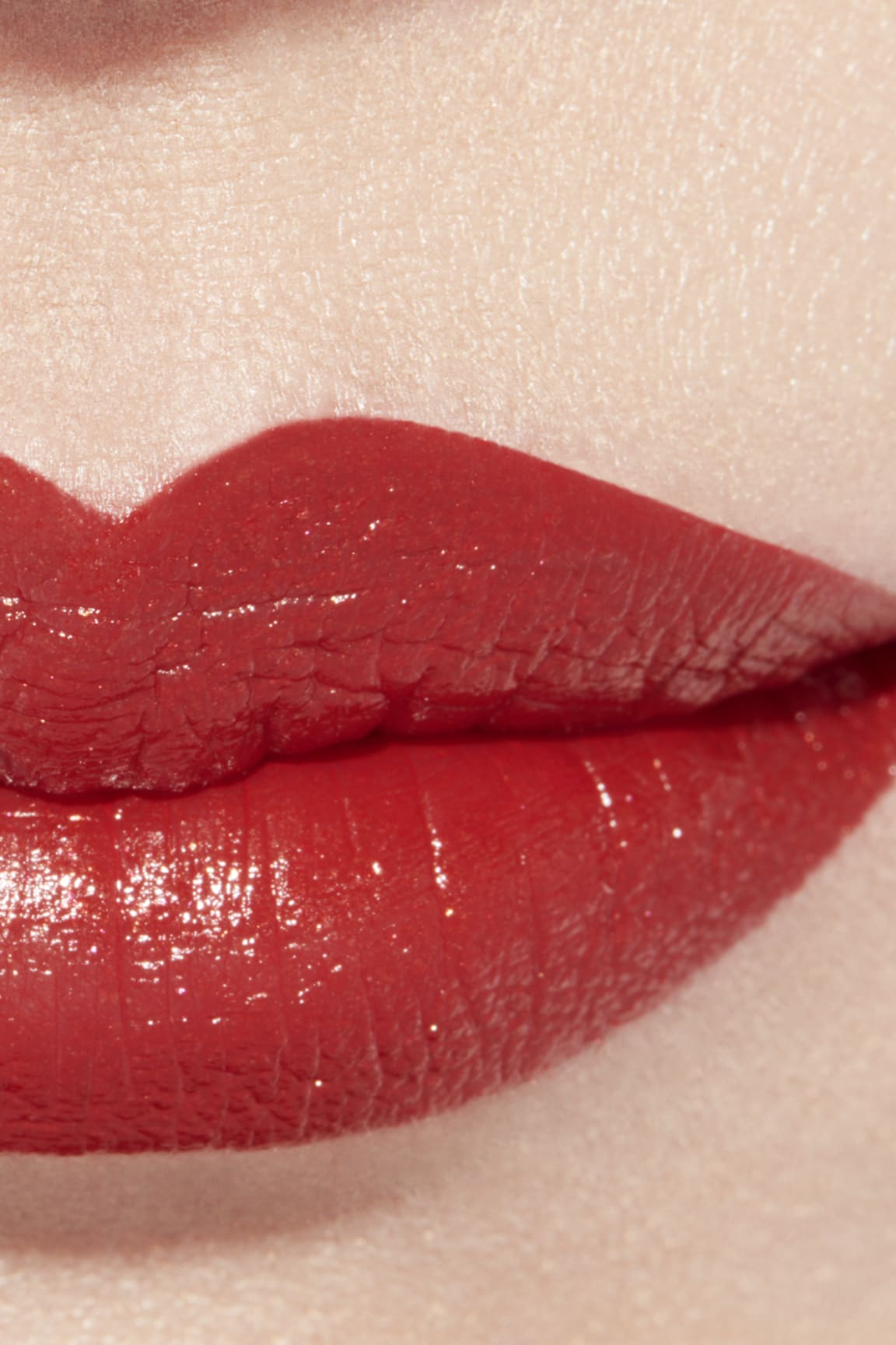 Application makeup visual 1 - ROUGE ALLURE 127 - ROUGE D'OR