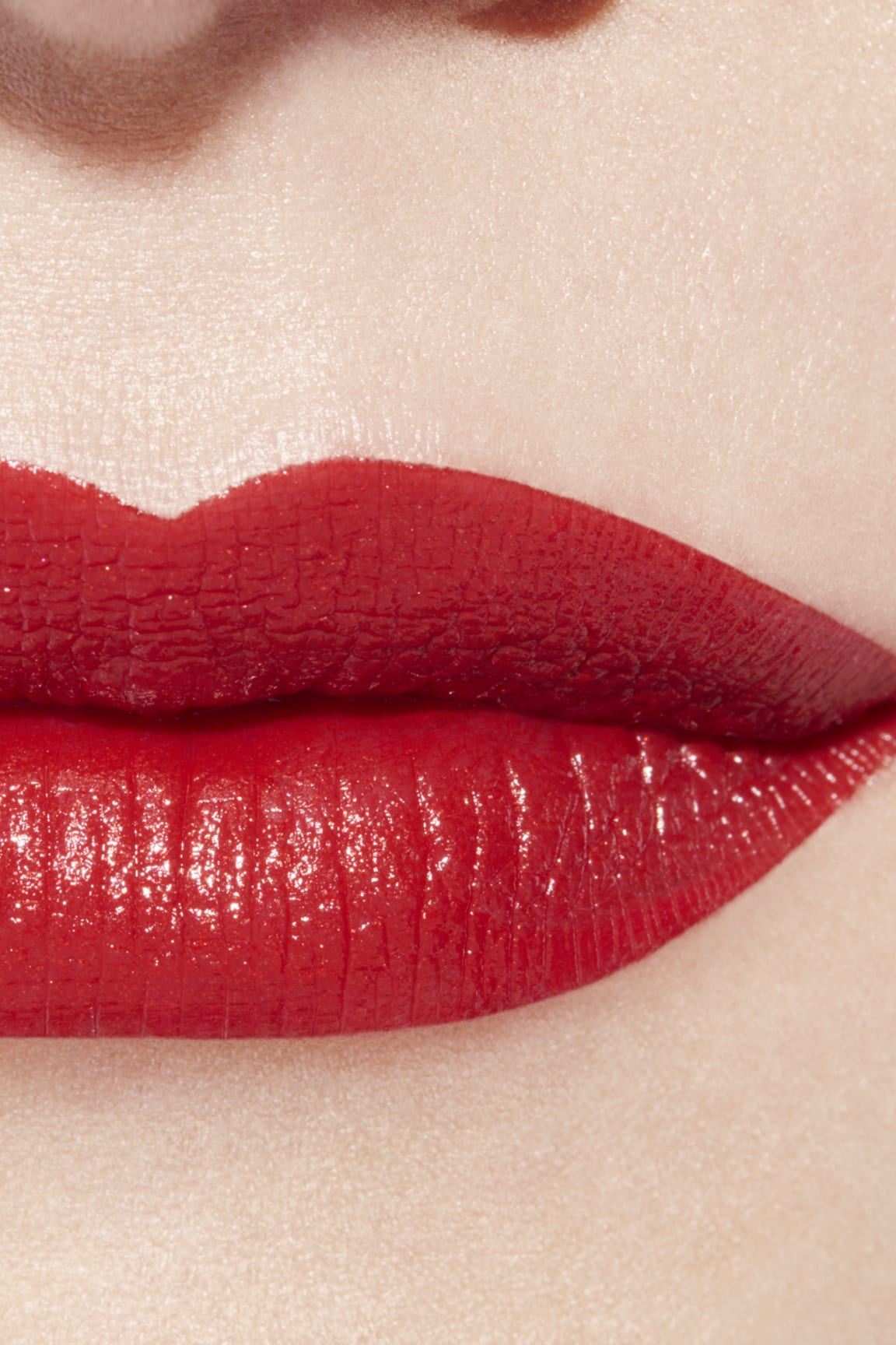 Application makeup visual 3 - ROUGE ALLURE 127 - ROUGE D'OR
