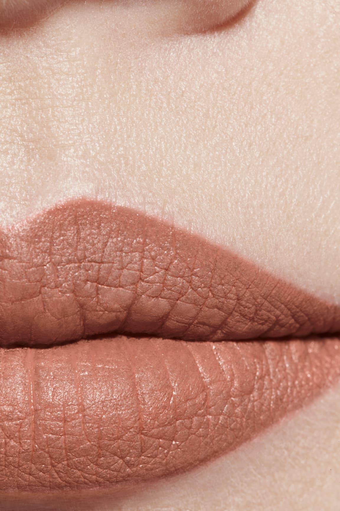 Application makeup visual 1 - ROUGE ALLURE VELVET LE LION DE CHANEL 227 - BEIGE RUGISSANT