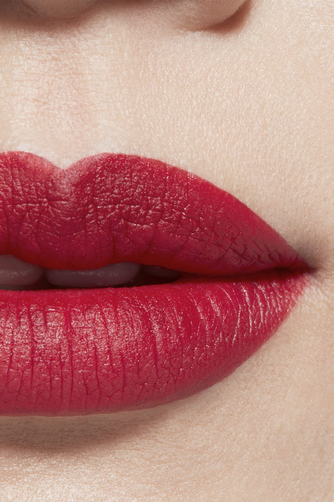 Application makeup visual 1 - ROUGE ALLURE VELVET 56 - ROUGE CHARNEL