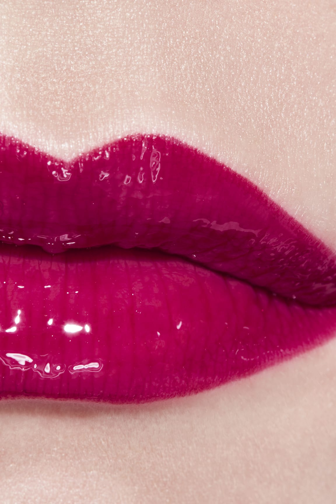 Application makeup visual 3 - ROUGE COCO GLOSS 766 - CARACTÈRE