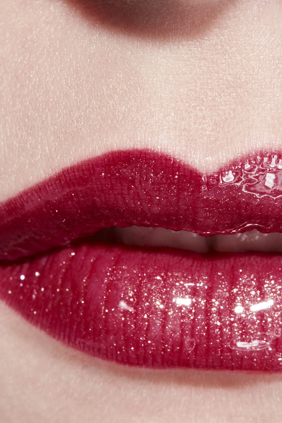 Application makeup visual 3 - ROUGE COCO GLOSS 774 - EXCITATION