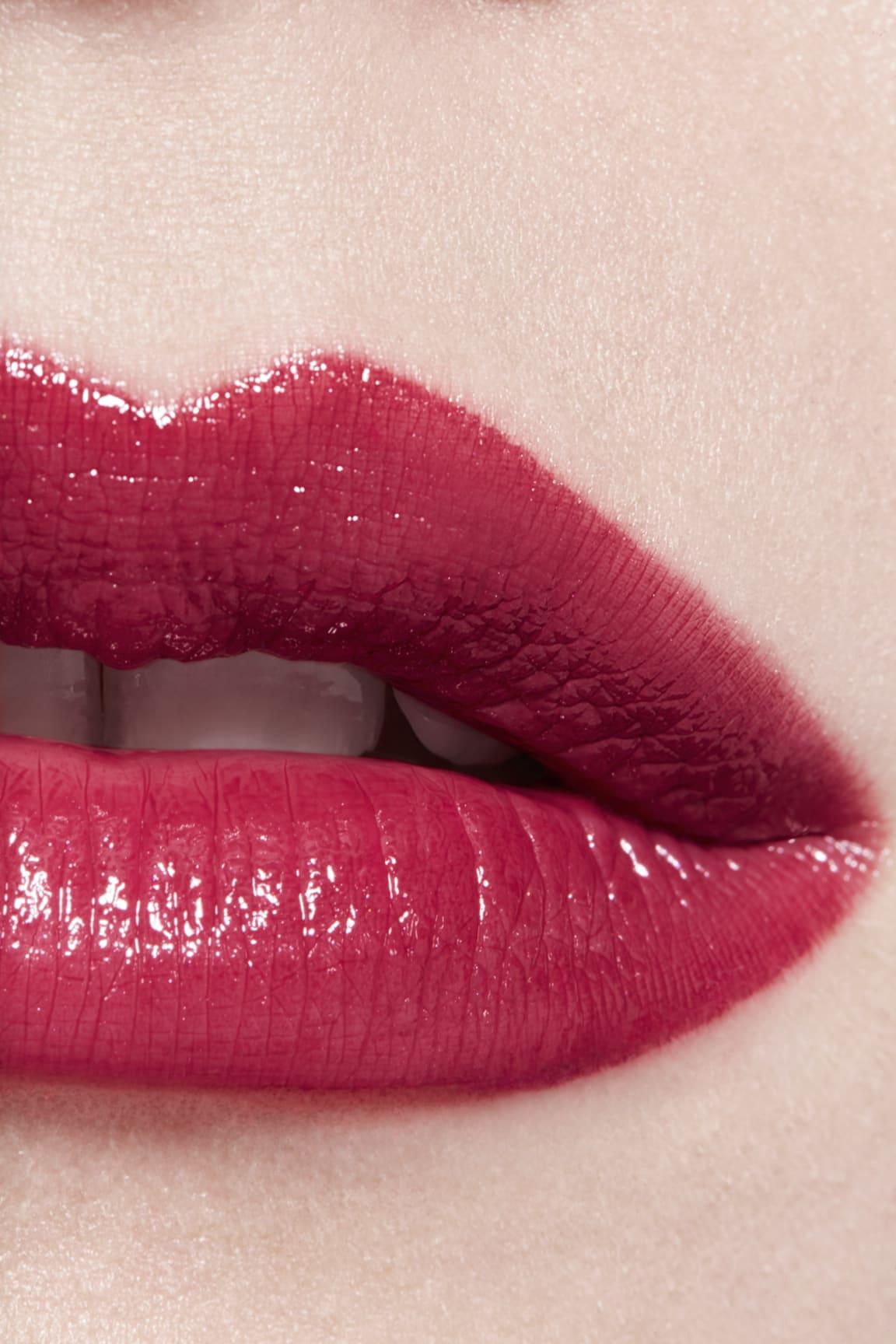 Application makeup visual 3 - ROUGE COCO 498 - ÉCLAT
