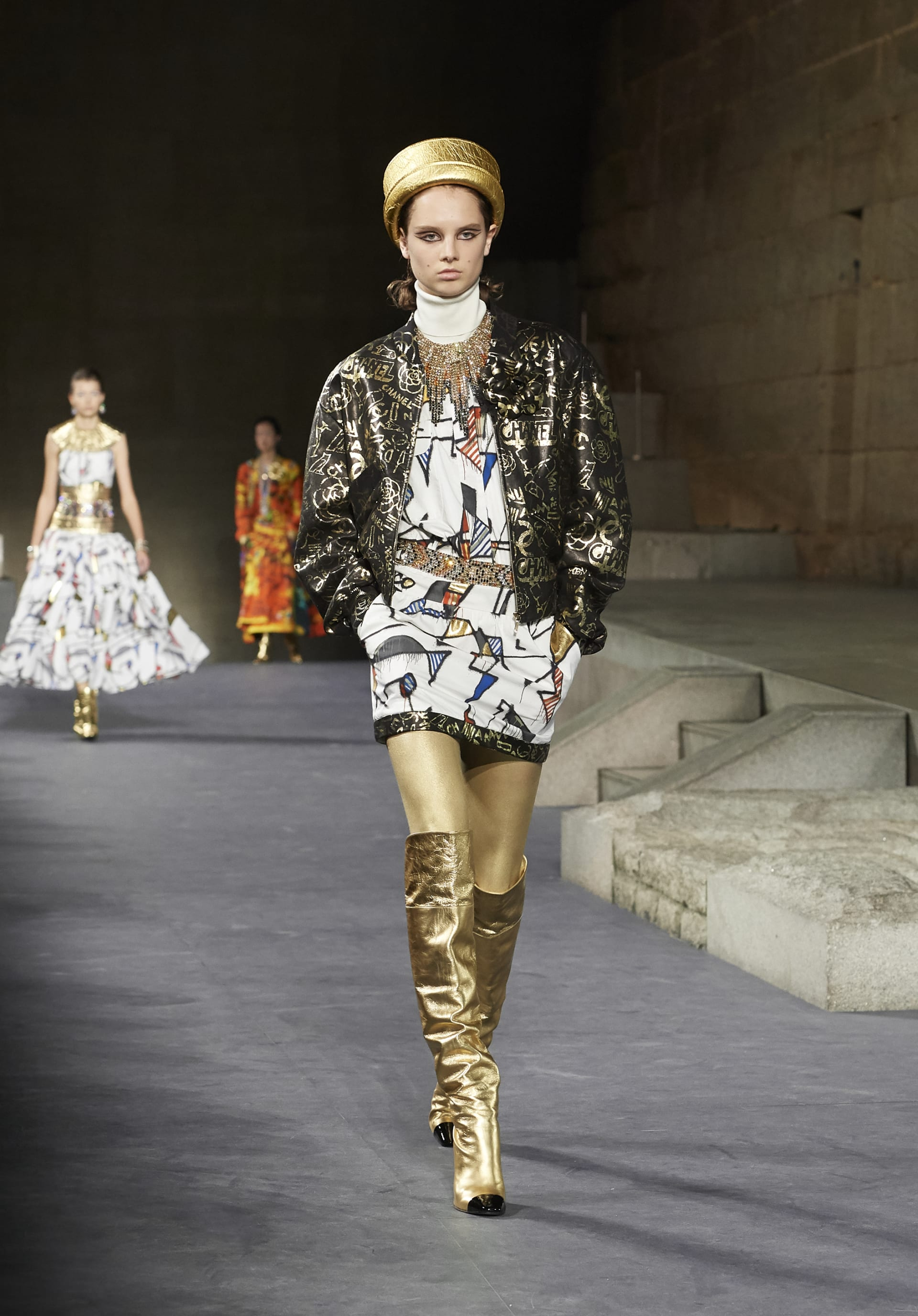 View 1 - Look 64 - Métiers d'Art Paris-New York 2018/19