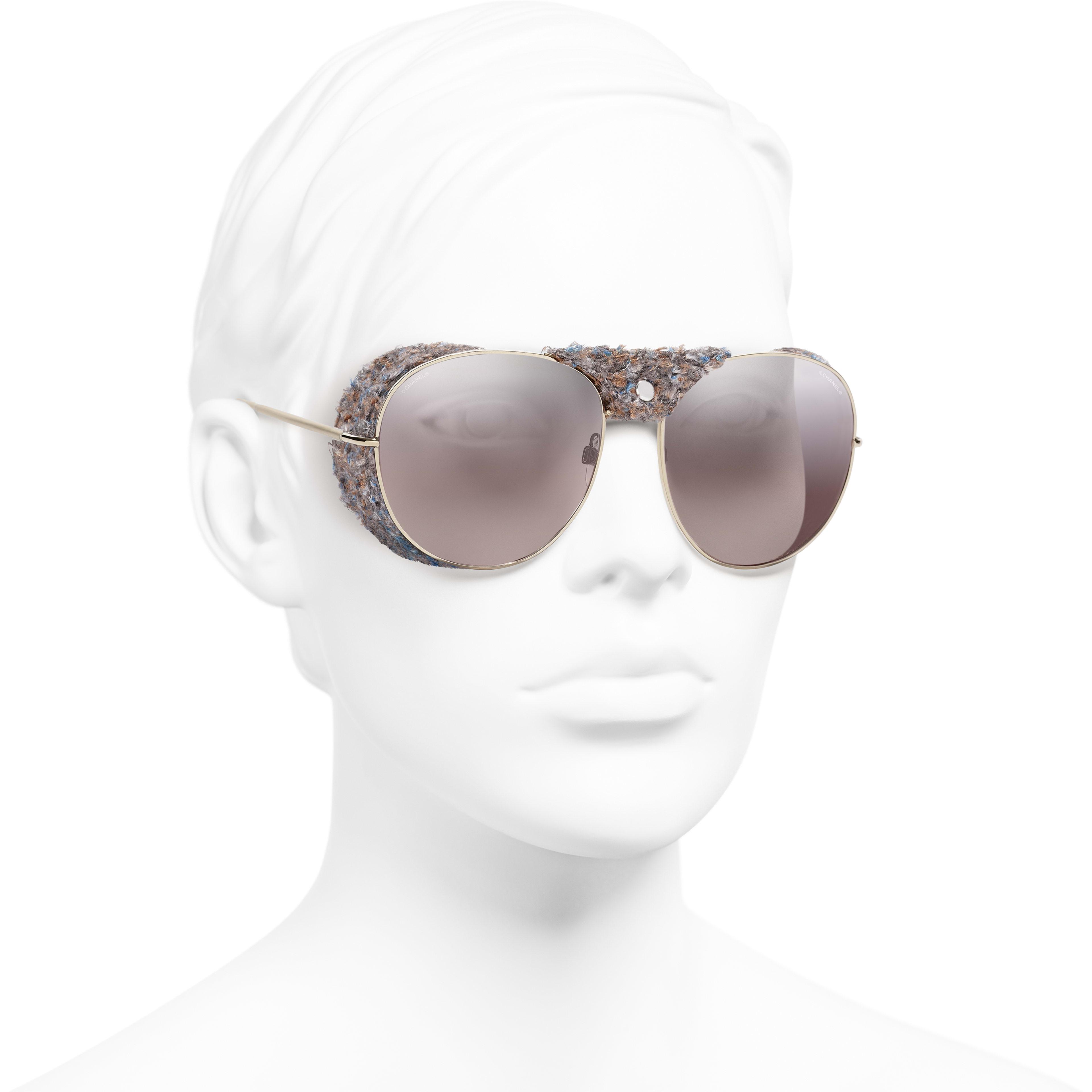 65a4f3d87c ... Pilot Sunglasses - Gold