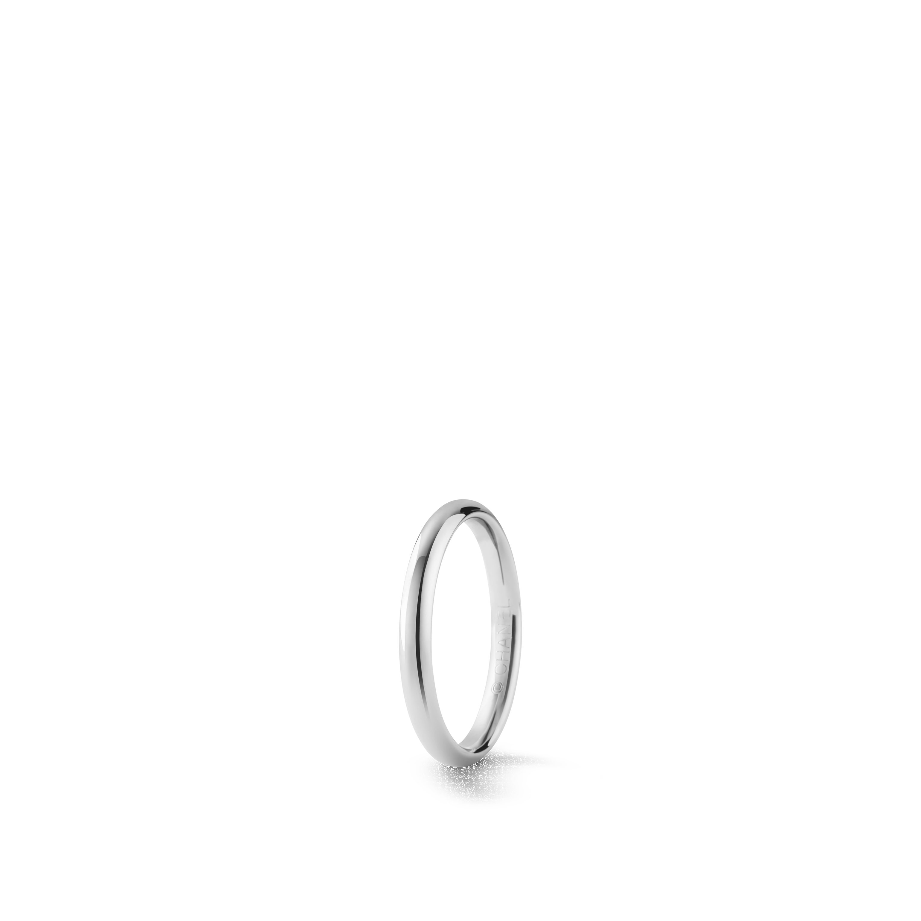 Ruban ring - Platinum - CHANEL - Default view - see standard sized version