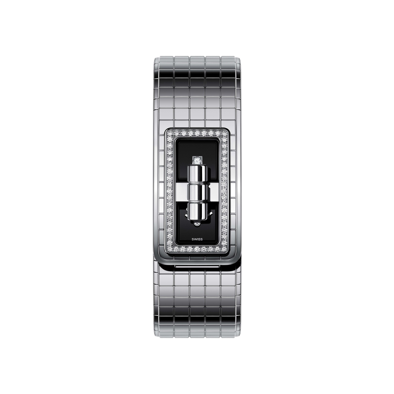 ساعة CODE COCO - فولاذ مرصّع بالماس - CHANEL - عروض مختلفة - عرض نسخة الحجم الموحد