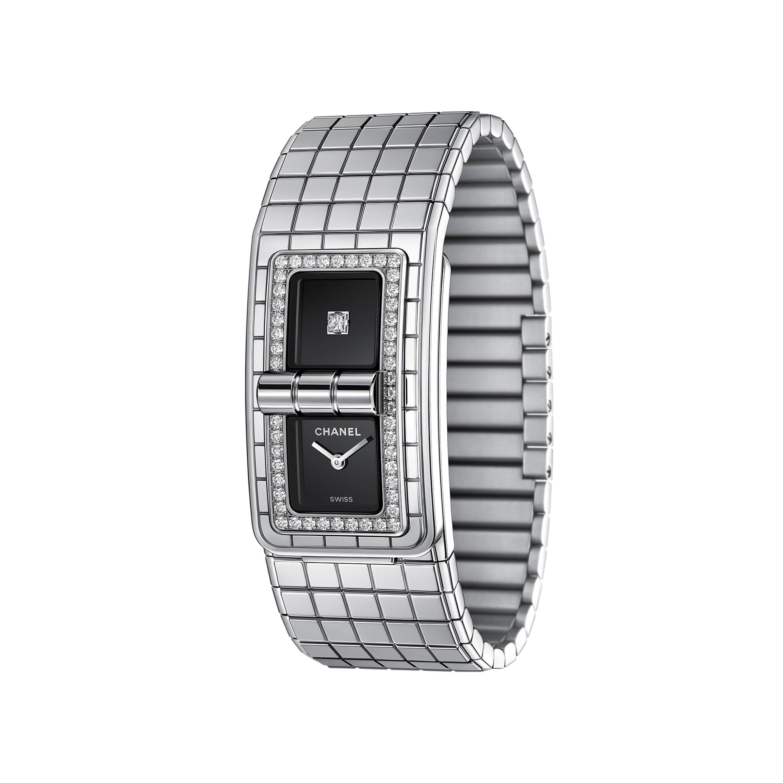 นาฬิกา CODE COCO - สตีลประดับเพชร - CHANEL - มุมมองอื่น - ดูเวอร์ชันขนาดมาตรฐาน