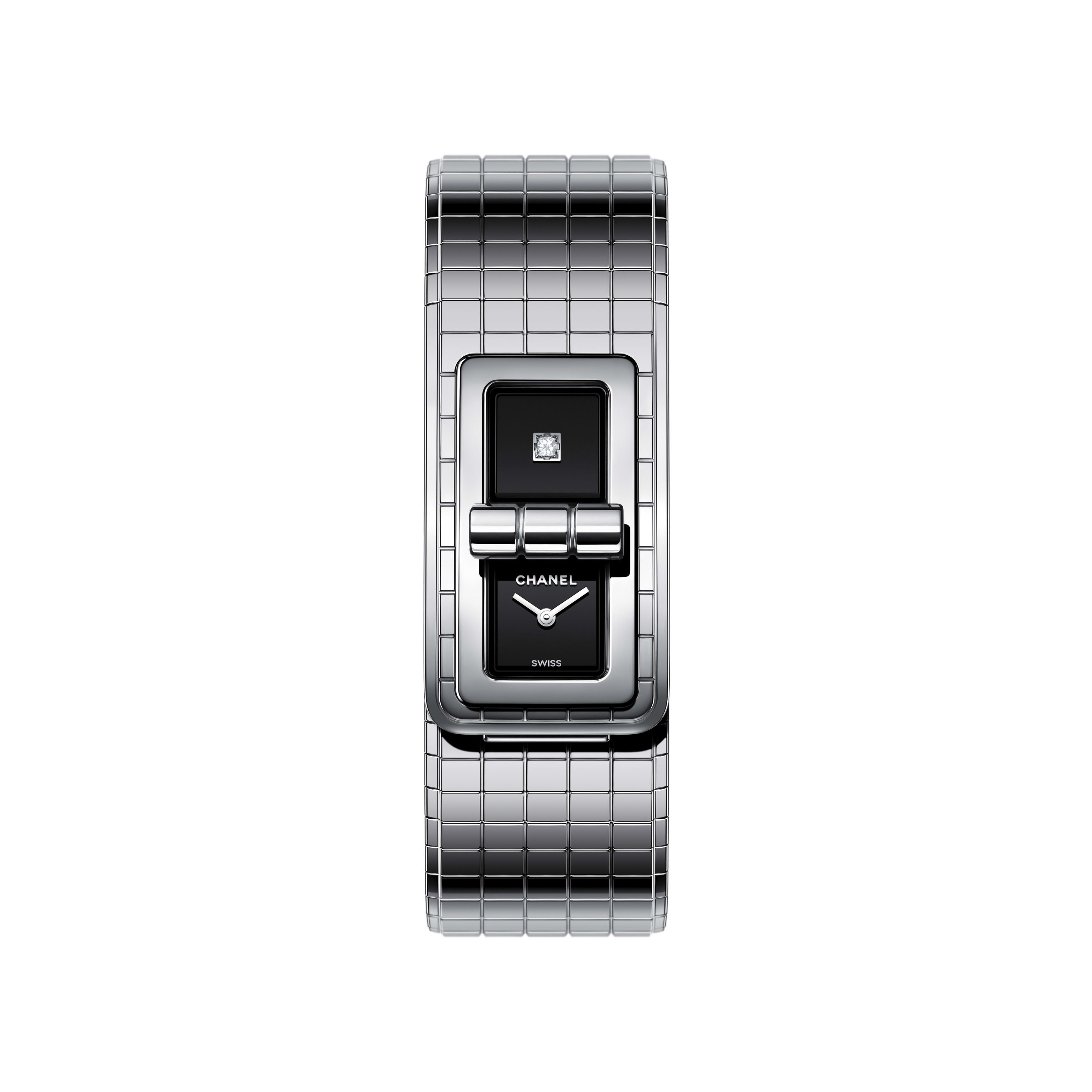 CODE COCO Watch - Steel - CHANEL - Default view - see standard sized version