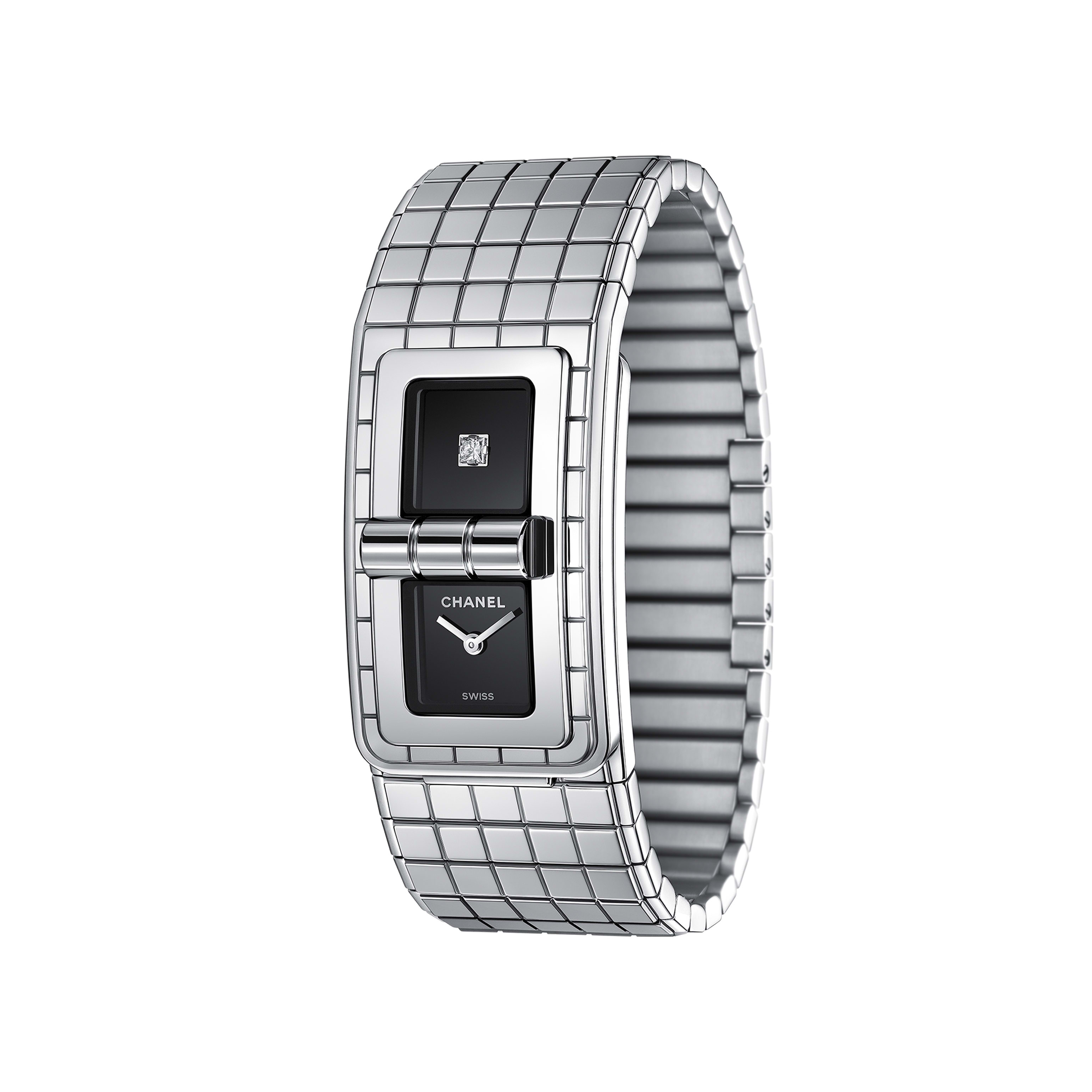 CODE COCO Watch - Steel - CHANEL - Other view - see standard sized version