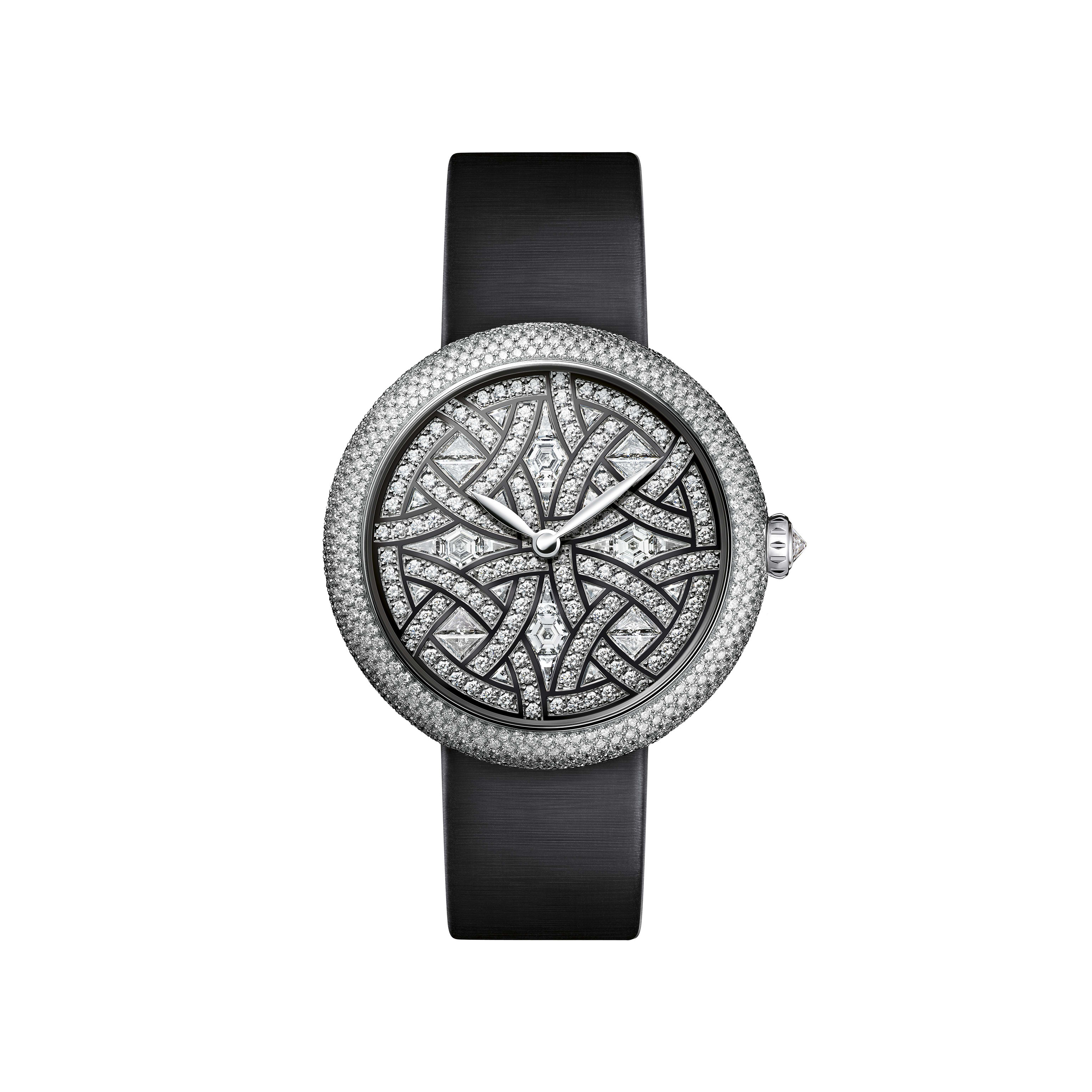 Mademoiselle Privé - White gold and diamonds - CHANEL - Default view - see standard sized version