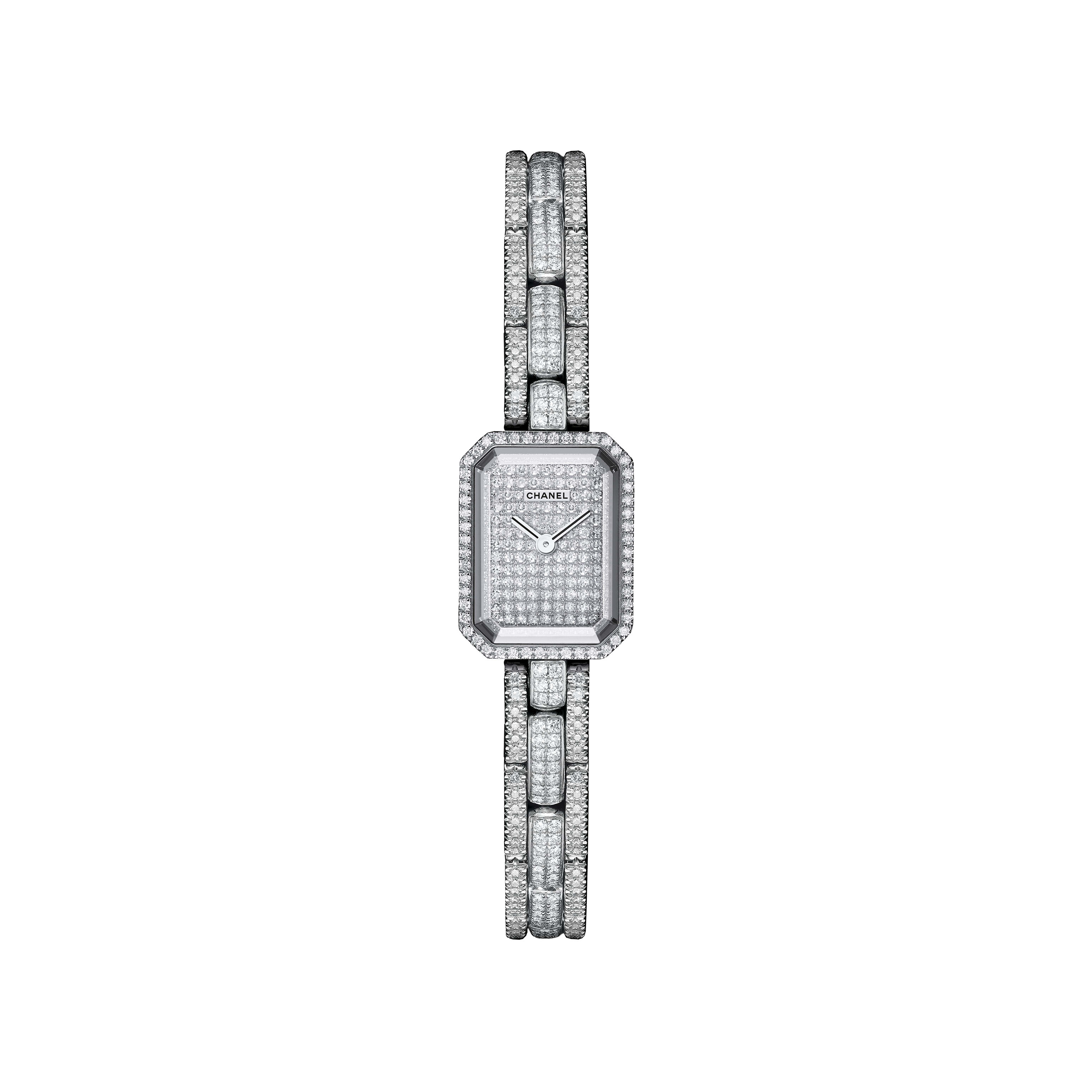 Première Mini - White gold and diamonds - Default view - see standard sized version