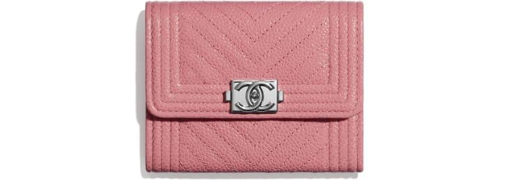 Portemonnaie BOY CHANEL mit Patte