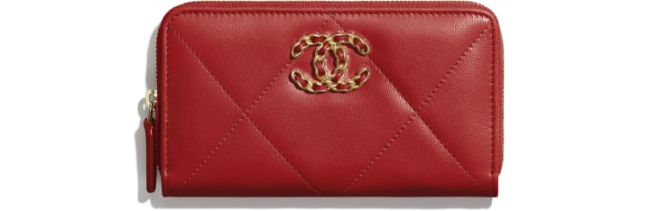 CHANEL 19 Zipped Wallet