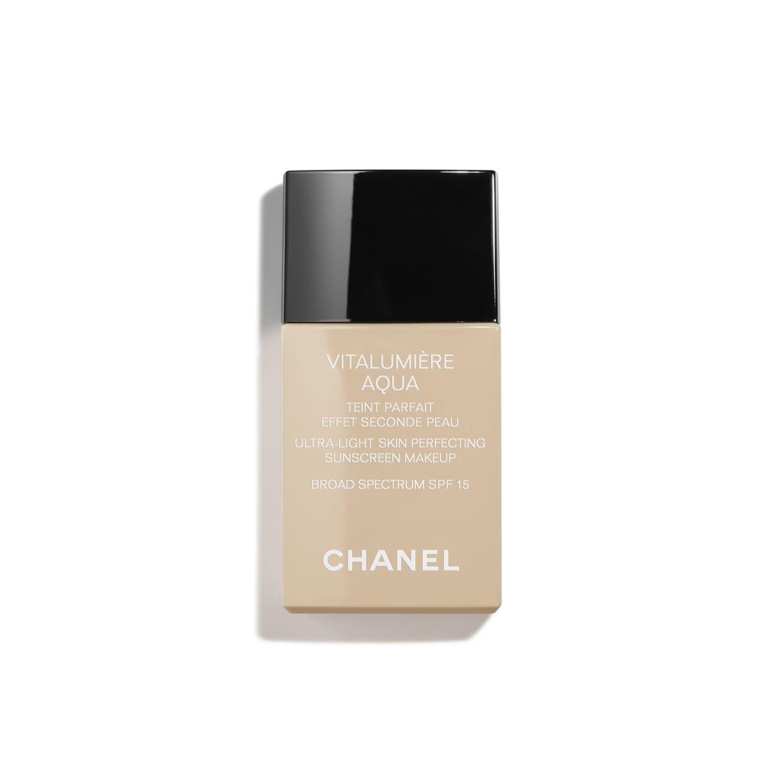 VITALUMIÈRE AQUA Ultra-Light Skin Perfecting Sunscreen Makeup Broad Spectrum SPF 15 12 ROSÉ | CHANEL