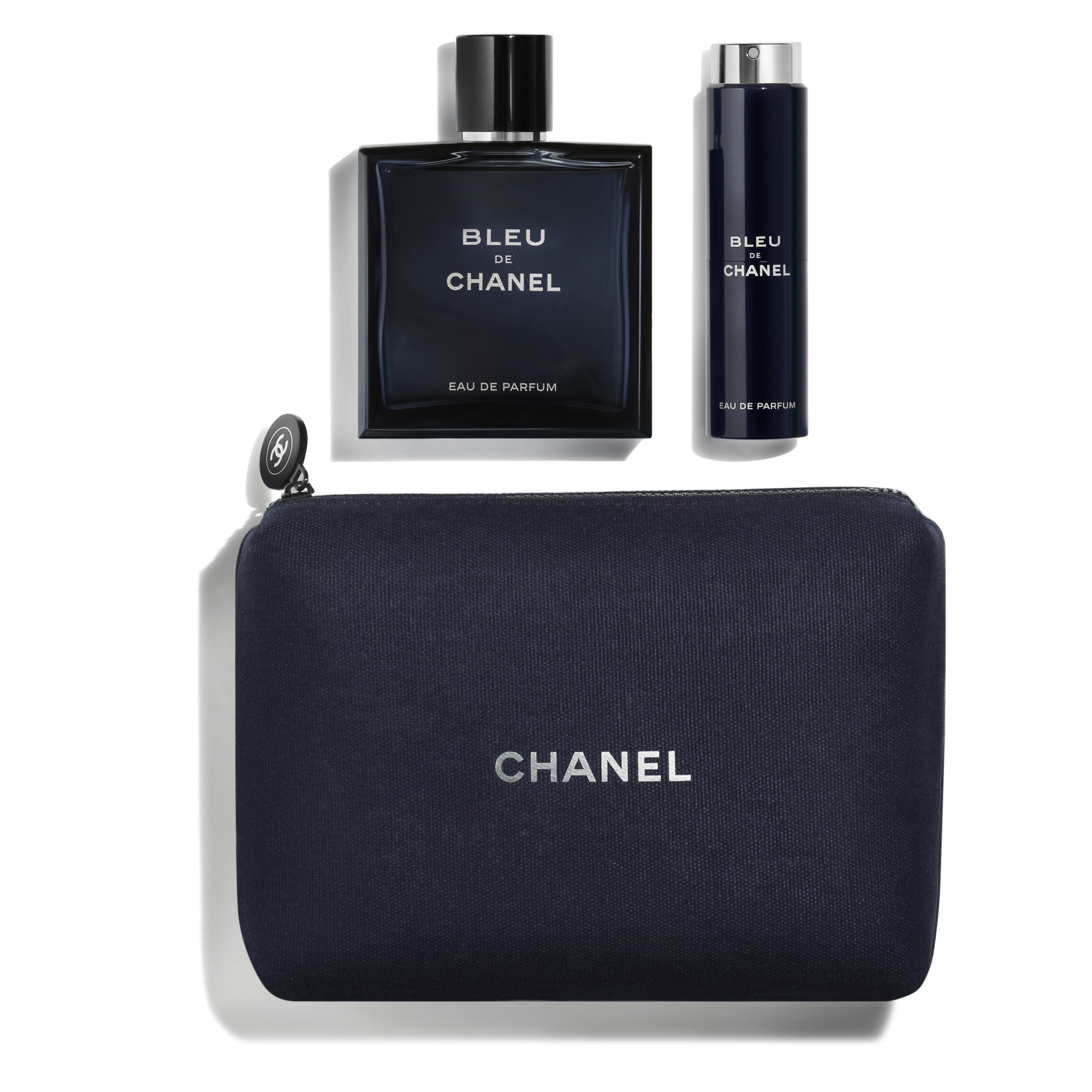 9818f0cd035f BLEU DE CHANEL Eau de Parfum Travel Set Ref. 107308