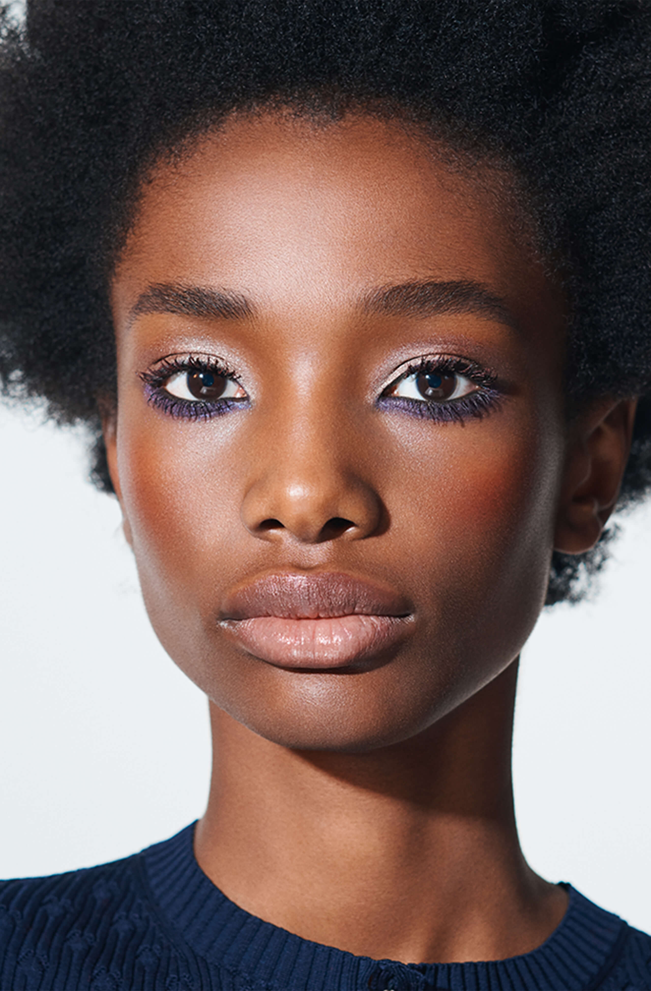 Violet Vibes Makeup Look - Chanel