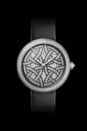 Reloj Mademoiselle Privé - Oro blanco y diamantes.