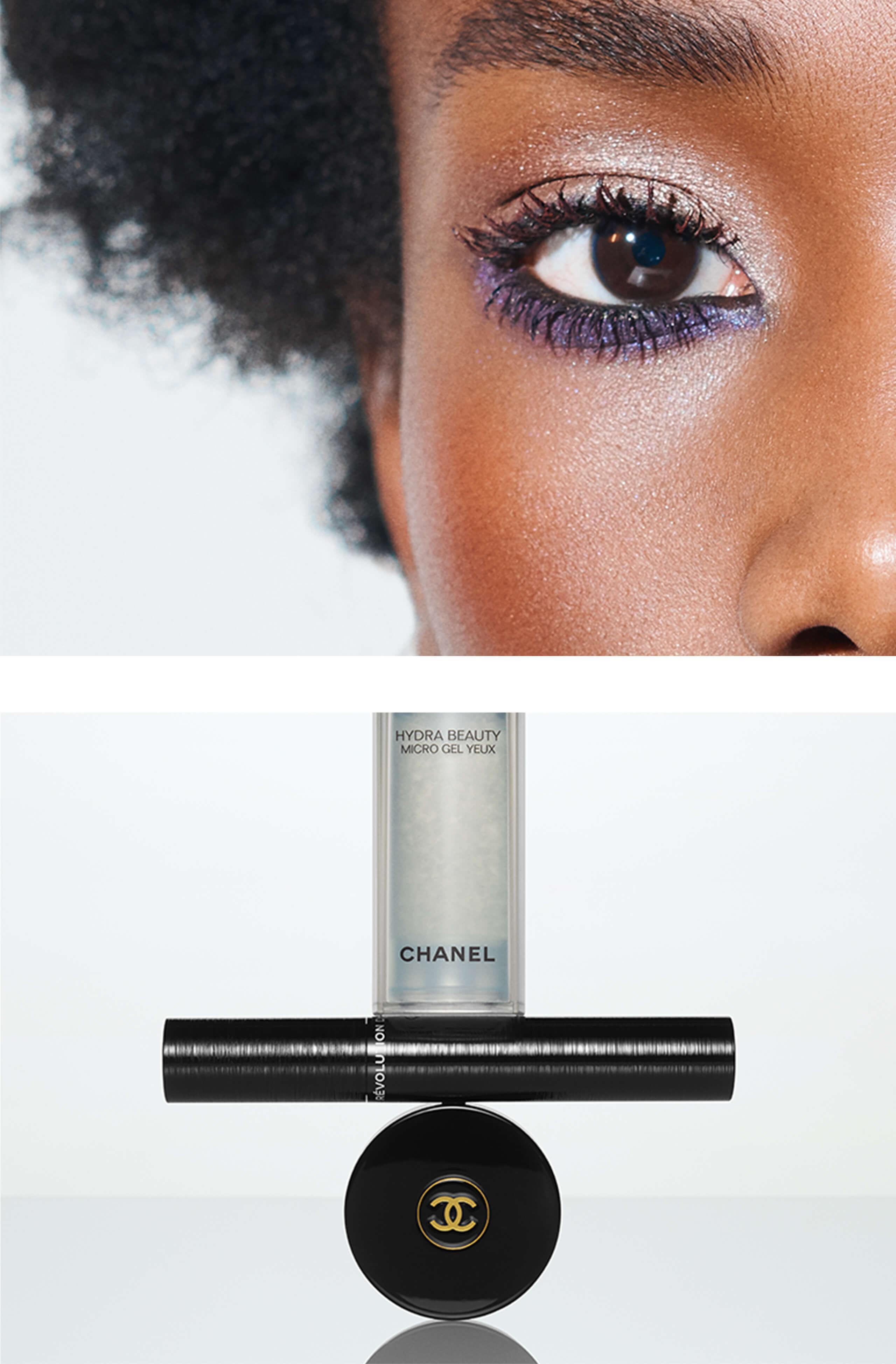 Violet Vibes Eye Makeup Look - Chanel