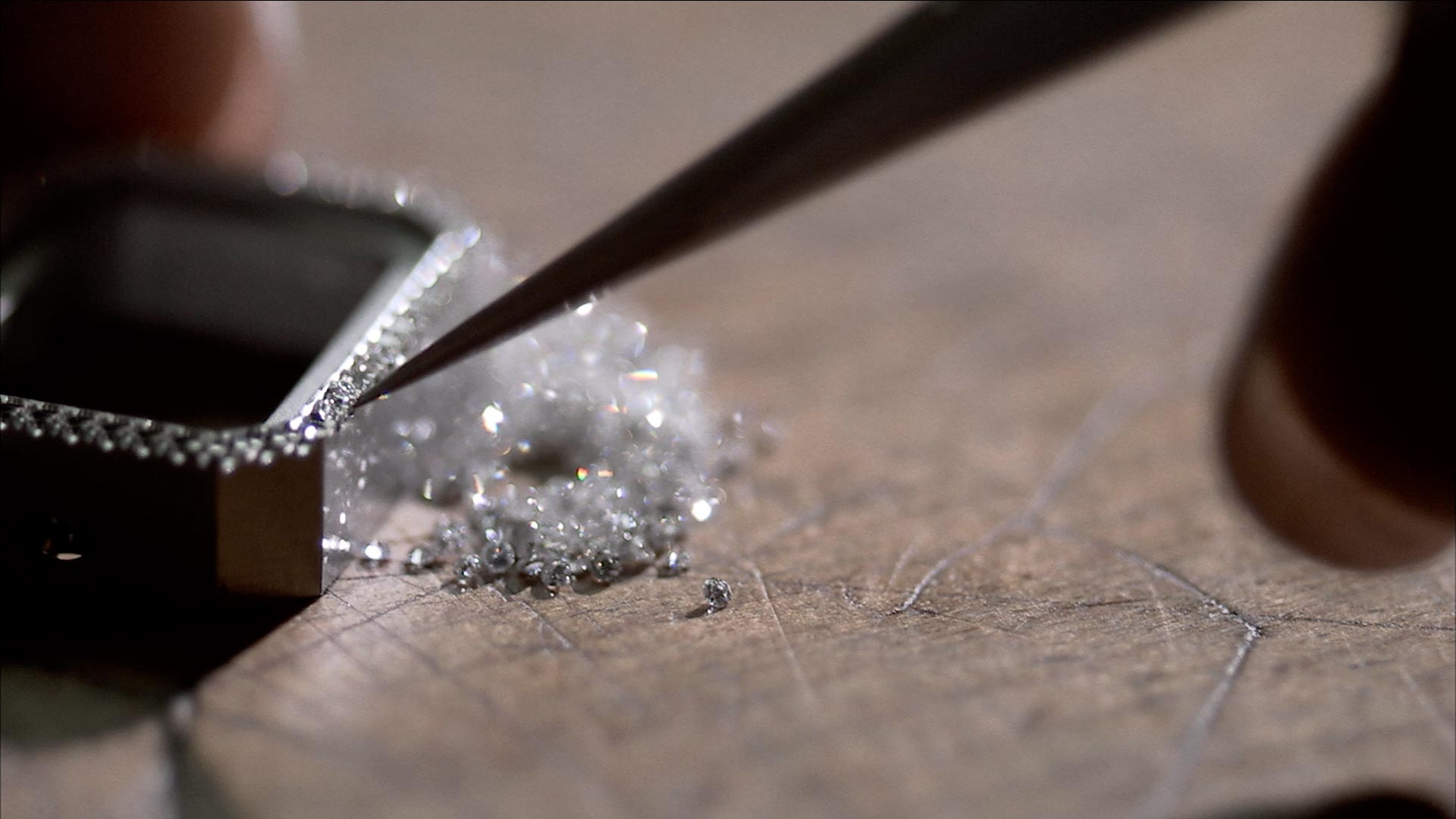 SEE THE FILM The jeweler's precision