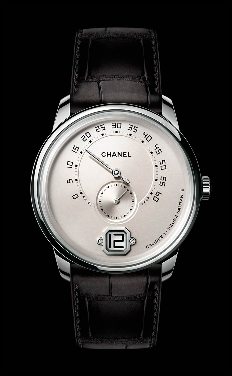 baselworld 2017 chanel monsieur de chanel watch white gold ivory dial