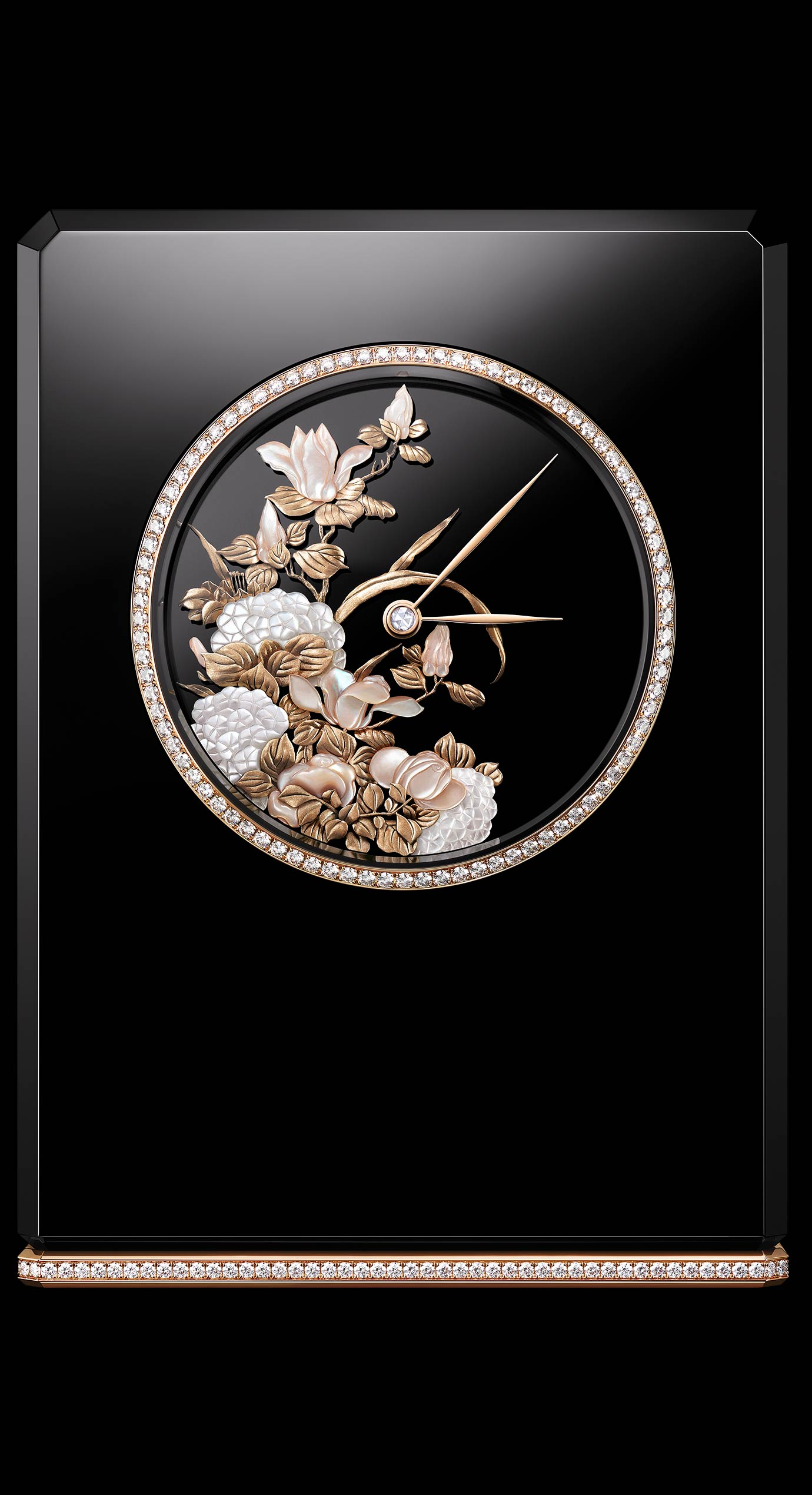Mademoiselle Privé Table Clock - Front