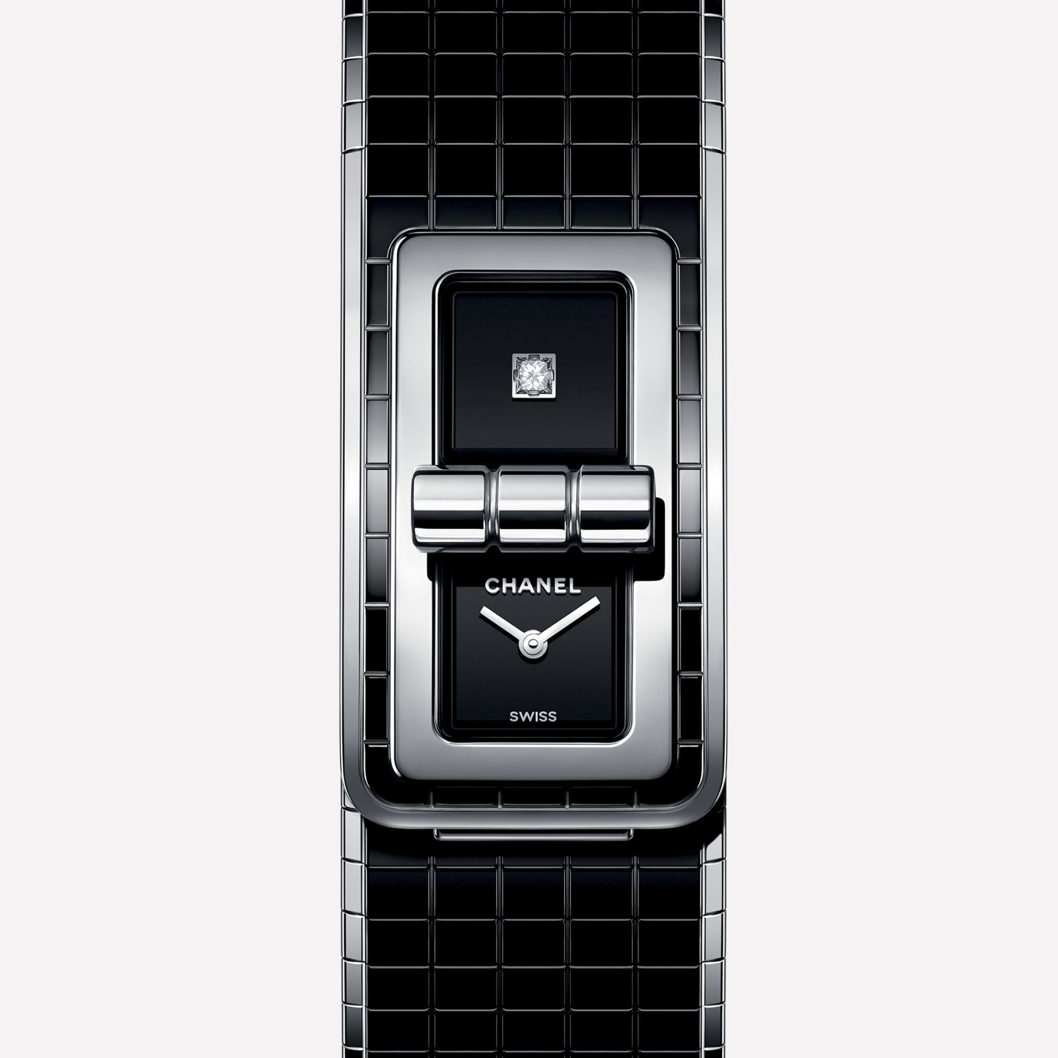 BLACK CODE COCO Watch Steel & highly-resistant ceramic