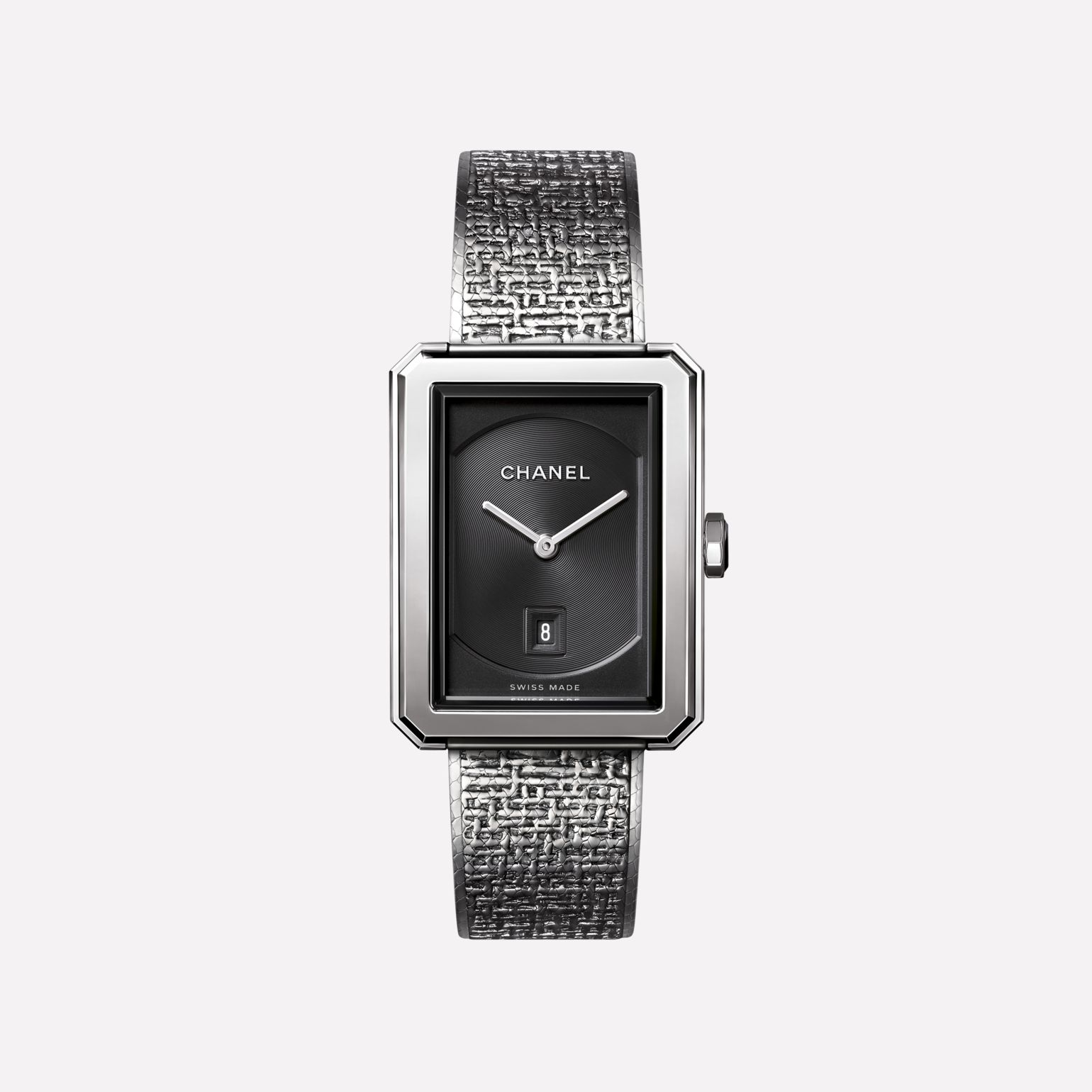 BOY·FRIEND TWEED Watch Medium version, steel