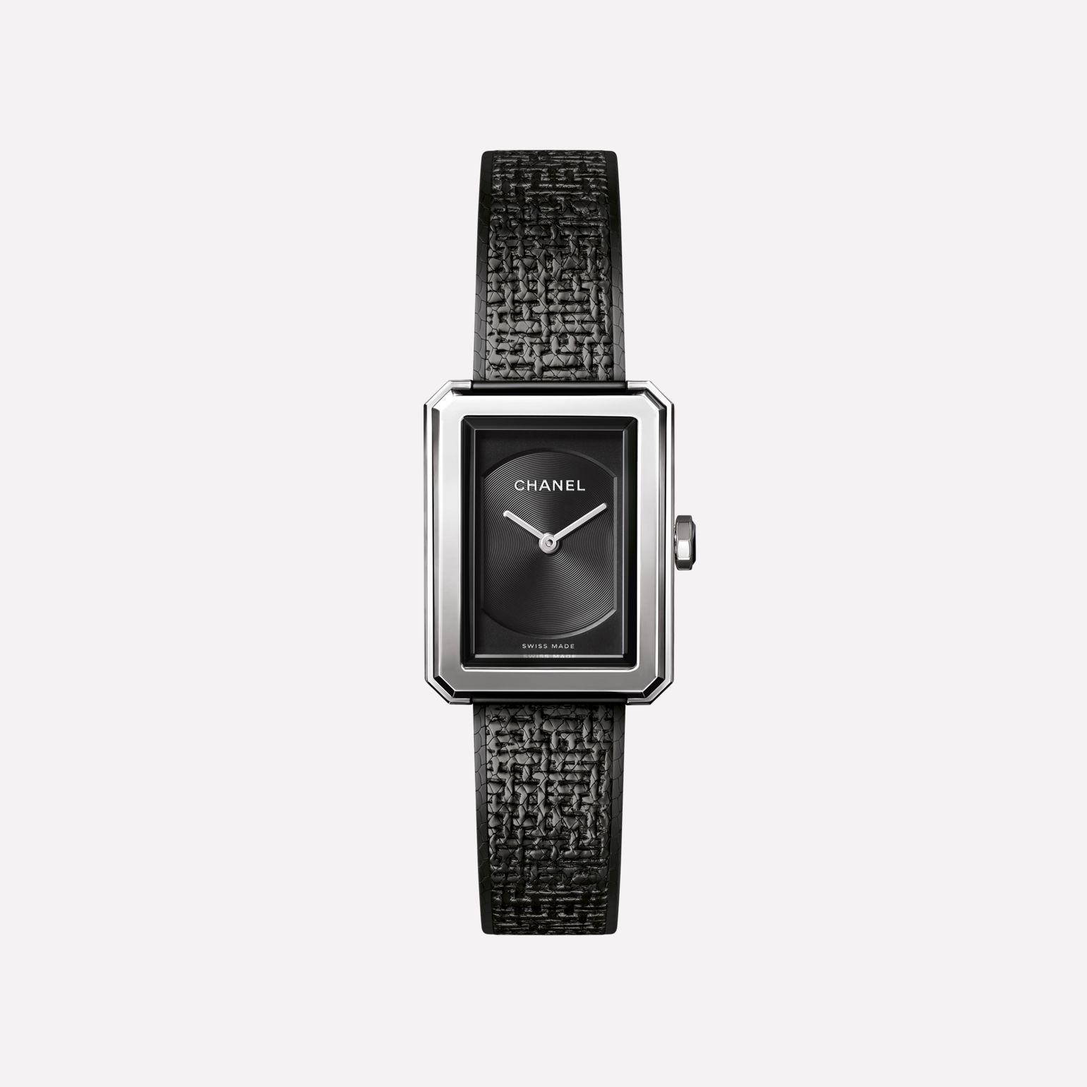 BOY·FRIEND TWEED Watch Small version, steel