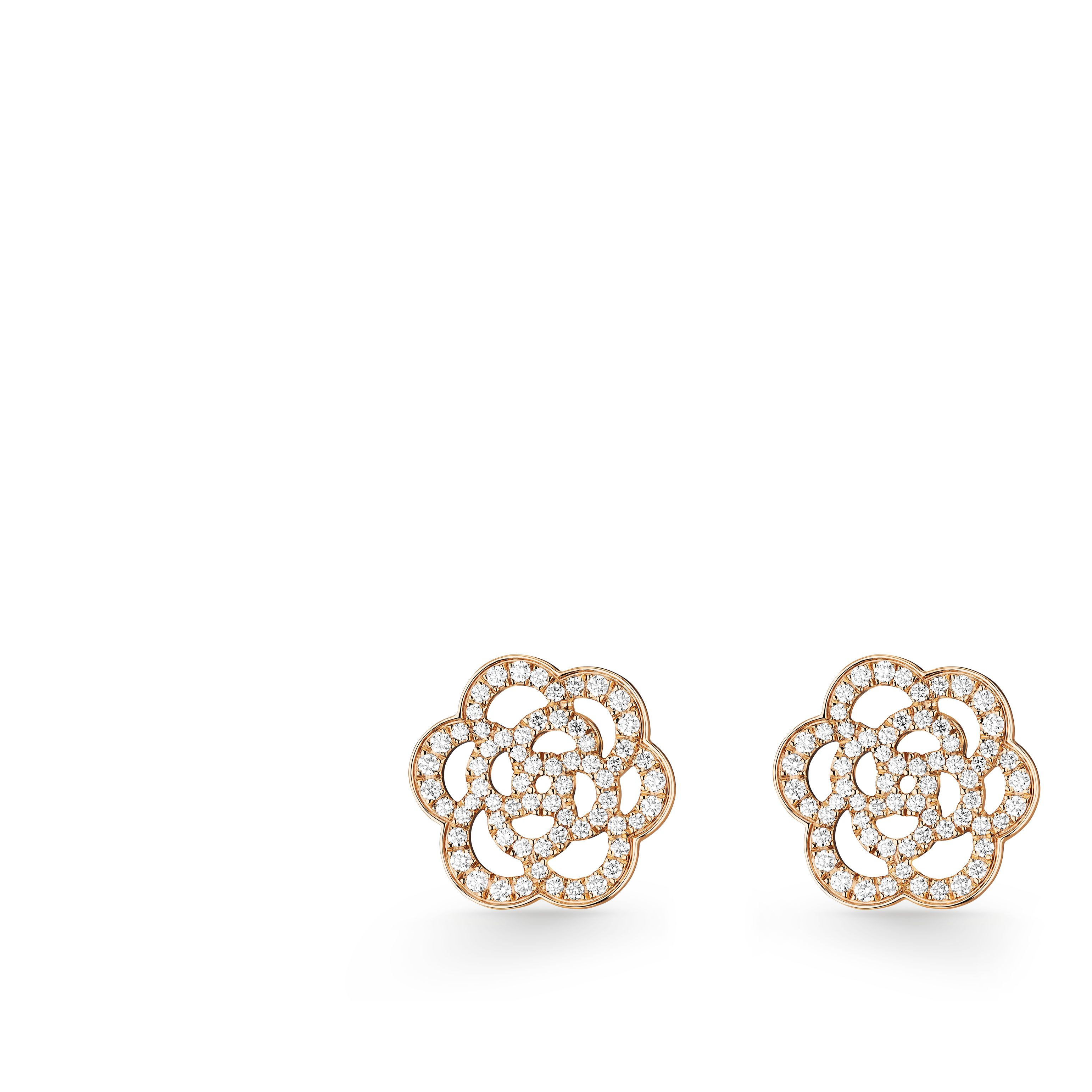 Cam 233 Lia Earrings Cam 233 Lia Ajour 233 Earrings In 18k Pink