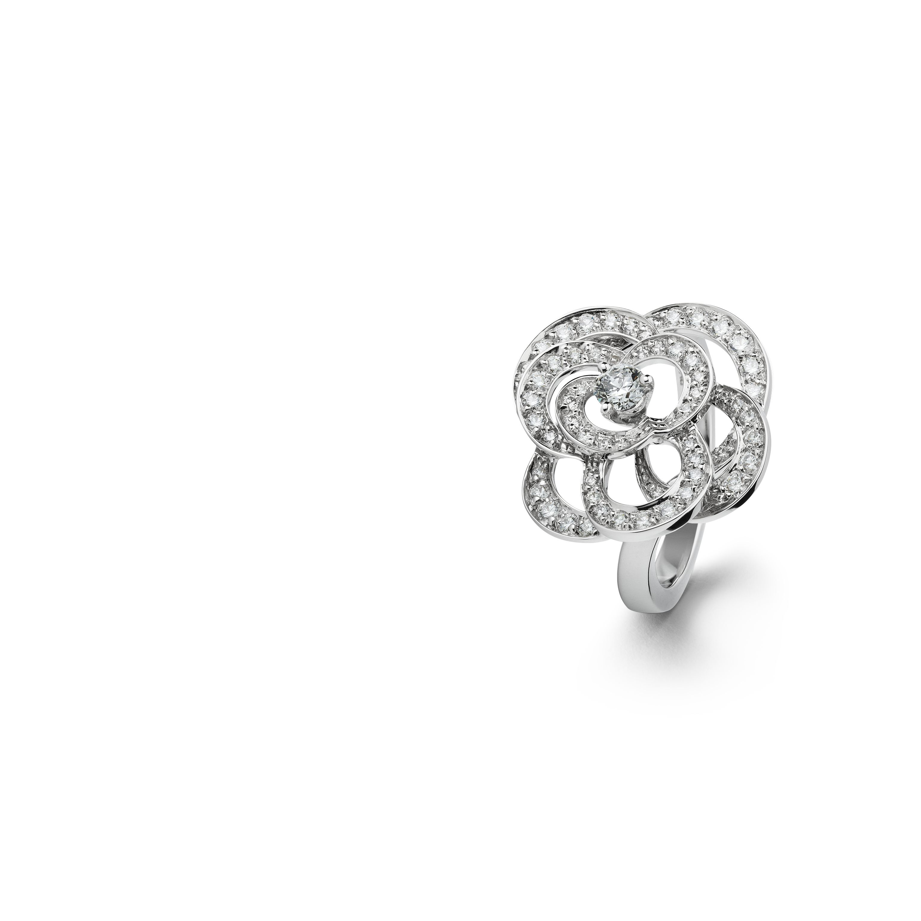 Cam 233 Lia Ring Fil De Cam 233 Lia Ring In 18k White Gold And