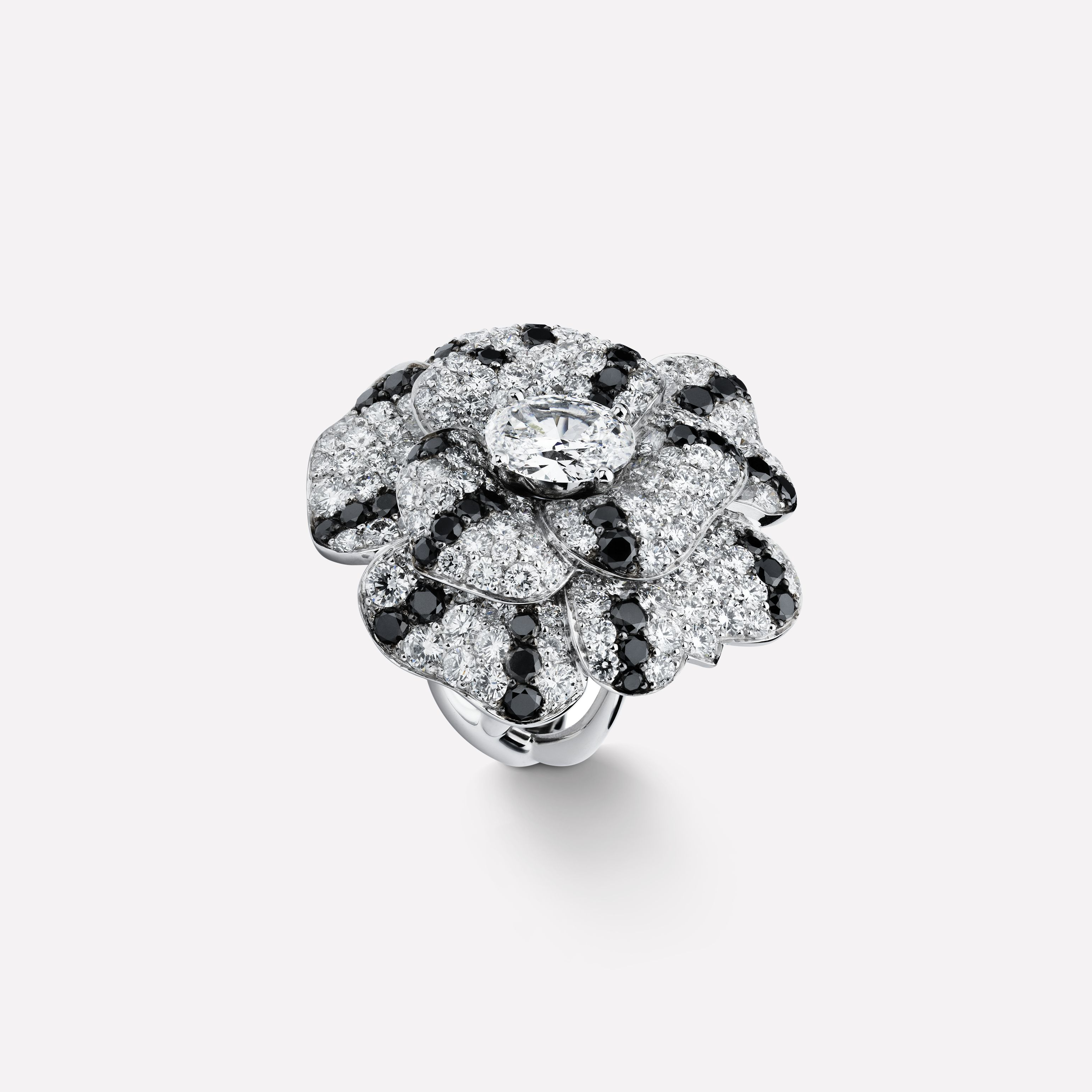 Chanel Camellia Engagement Ring