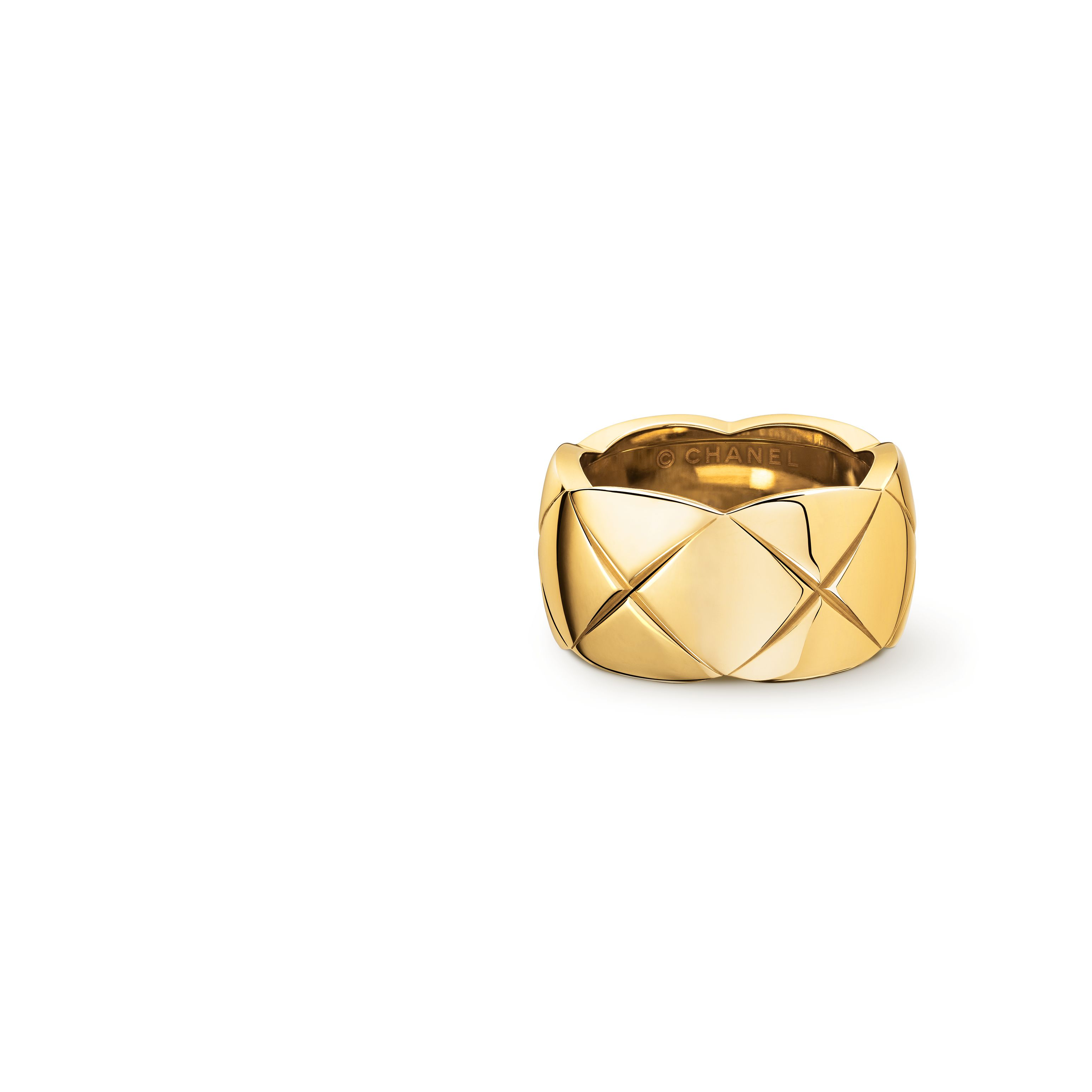 plated g gold band en thick fashionology ring