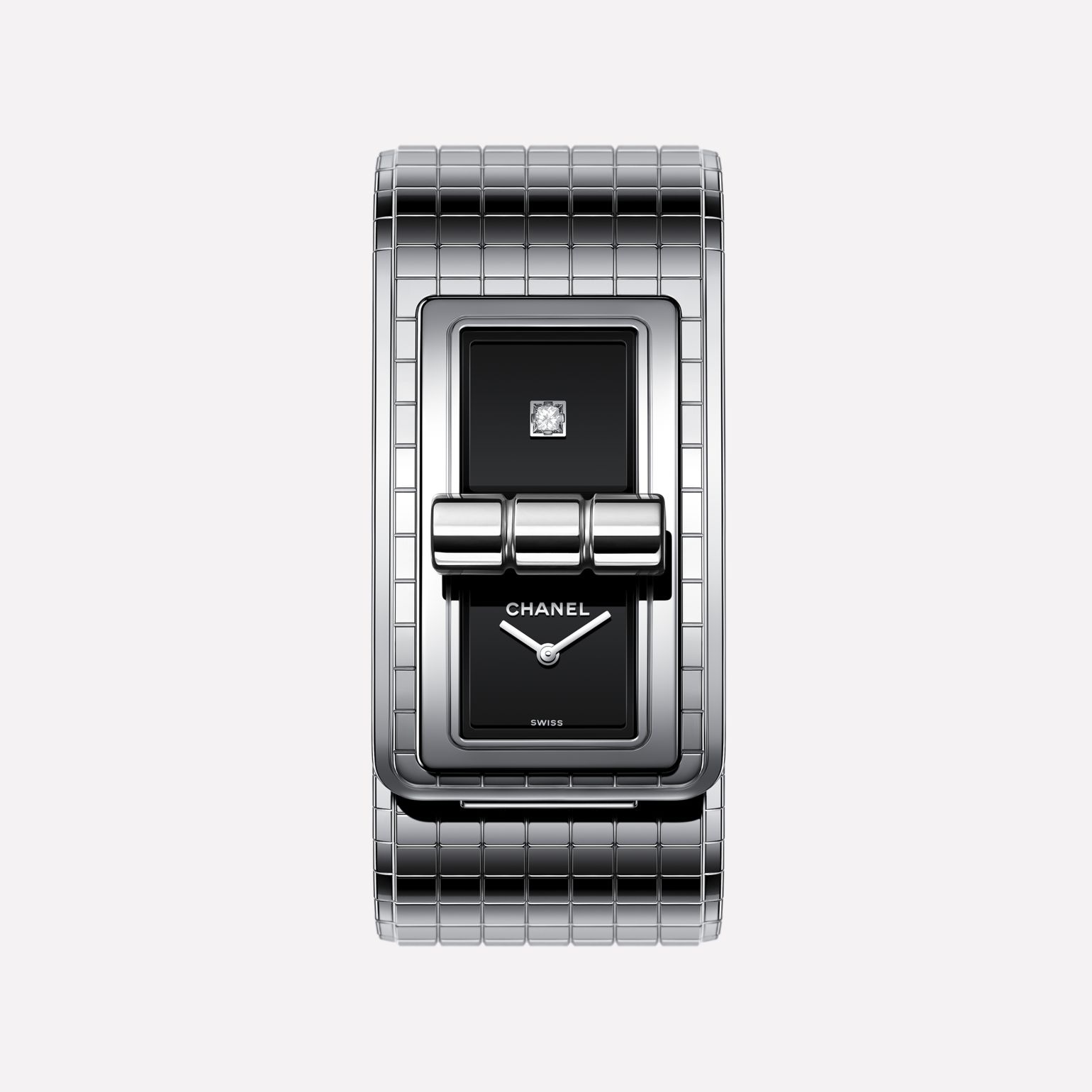CODE COCO Oversize watch Steel and titanium